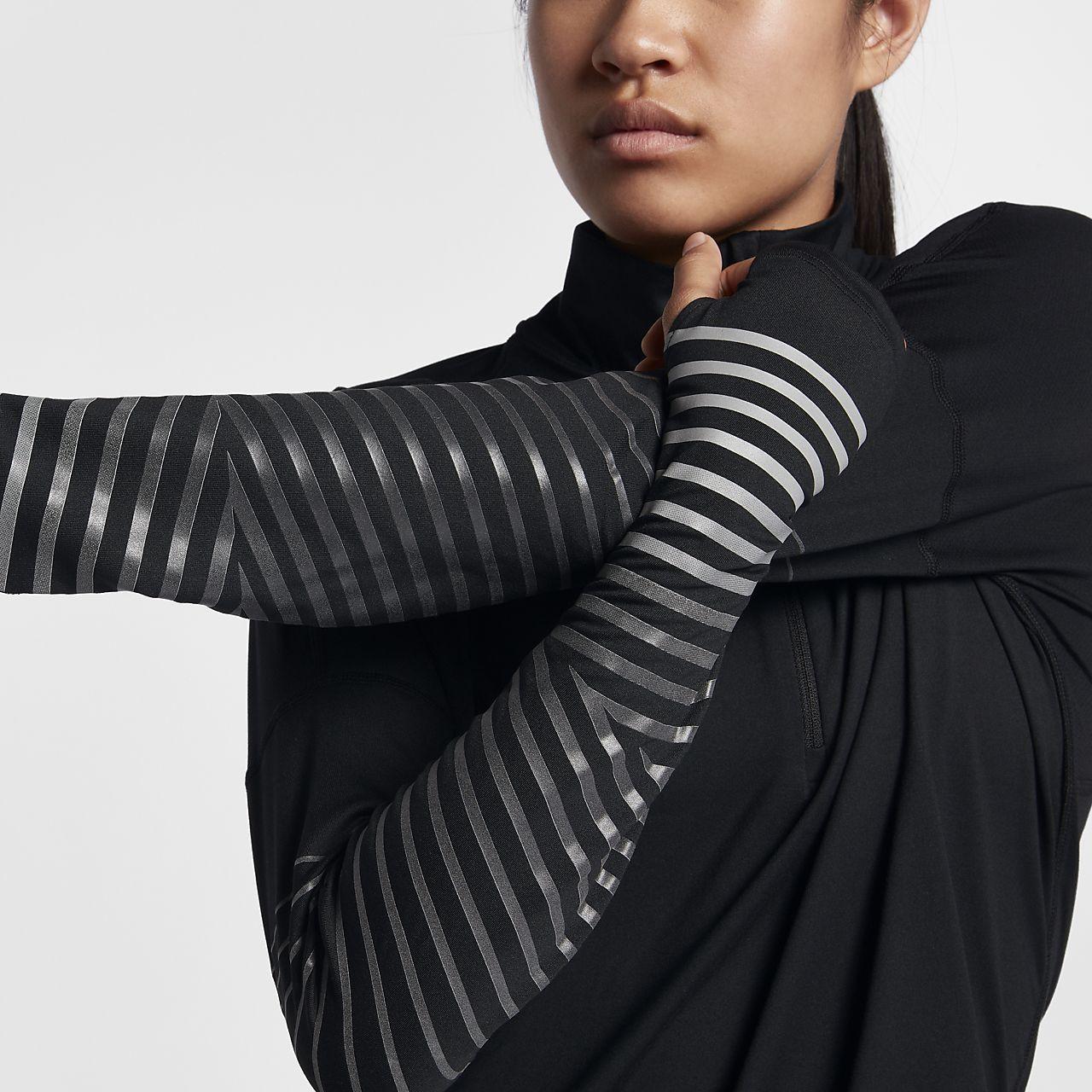 31f91756a35b Nike Dri-FIT Element Flash Women s Reflective Long-Sleeve Running ...