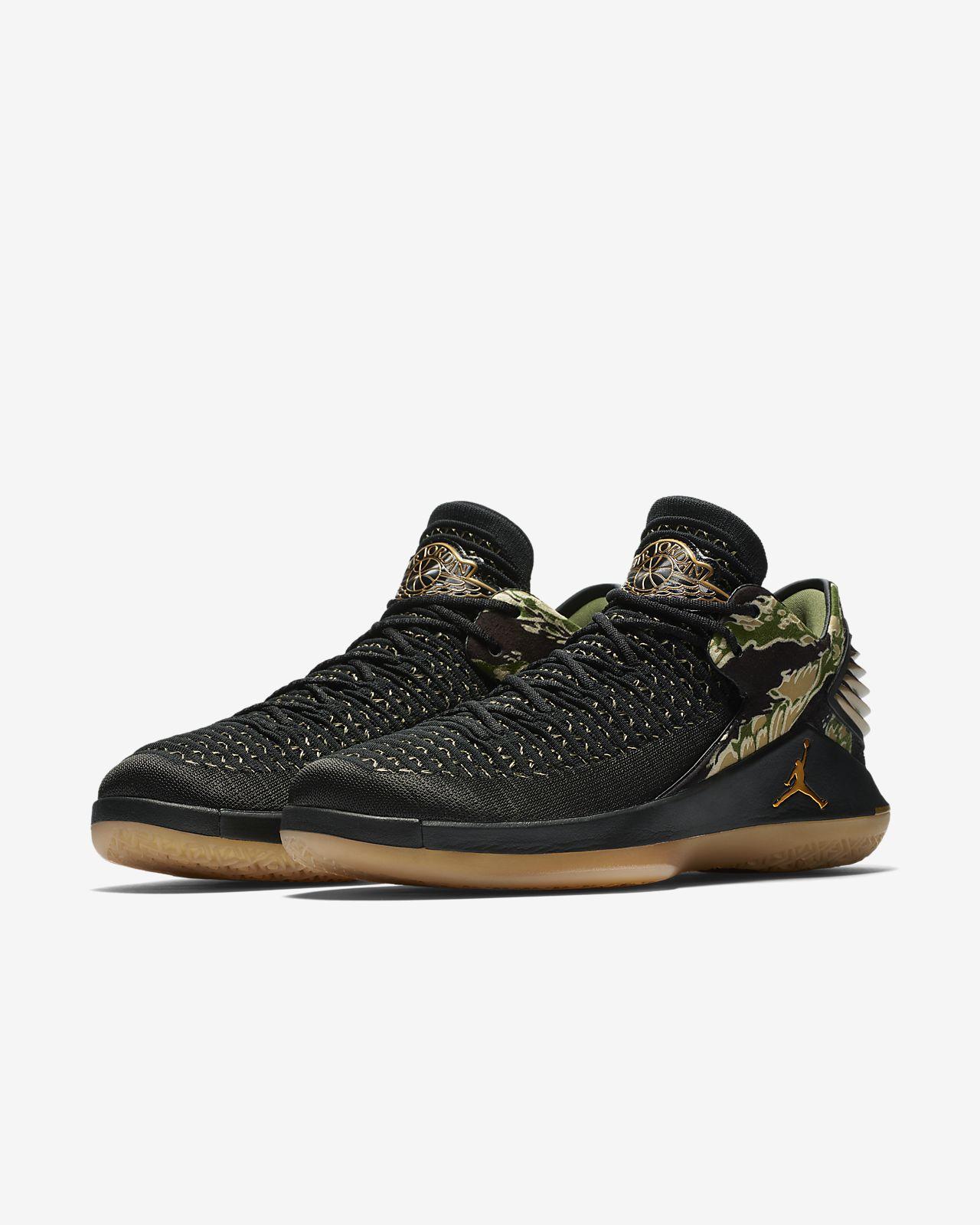 009524182f68 Air Jordan XXXII Low AJ 32 University Blue Black White Metallic Silver Men s  Basketball Shoes