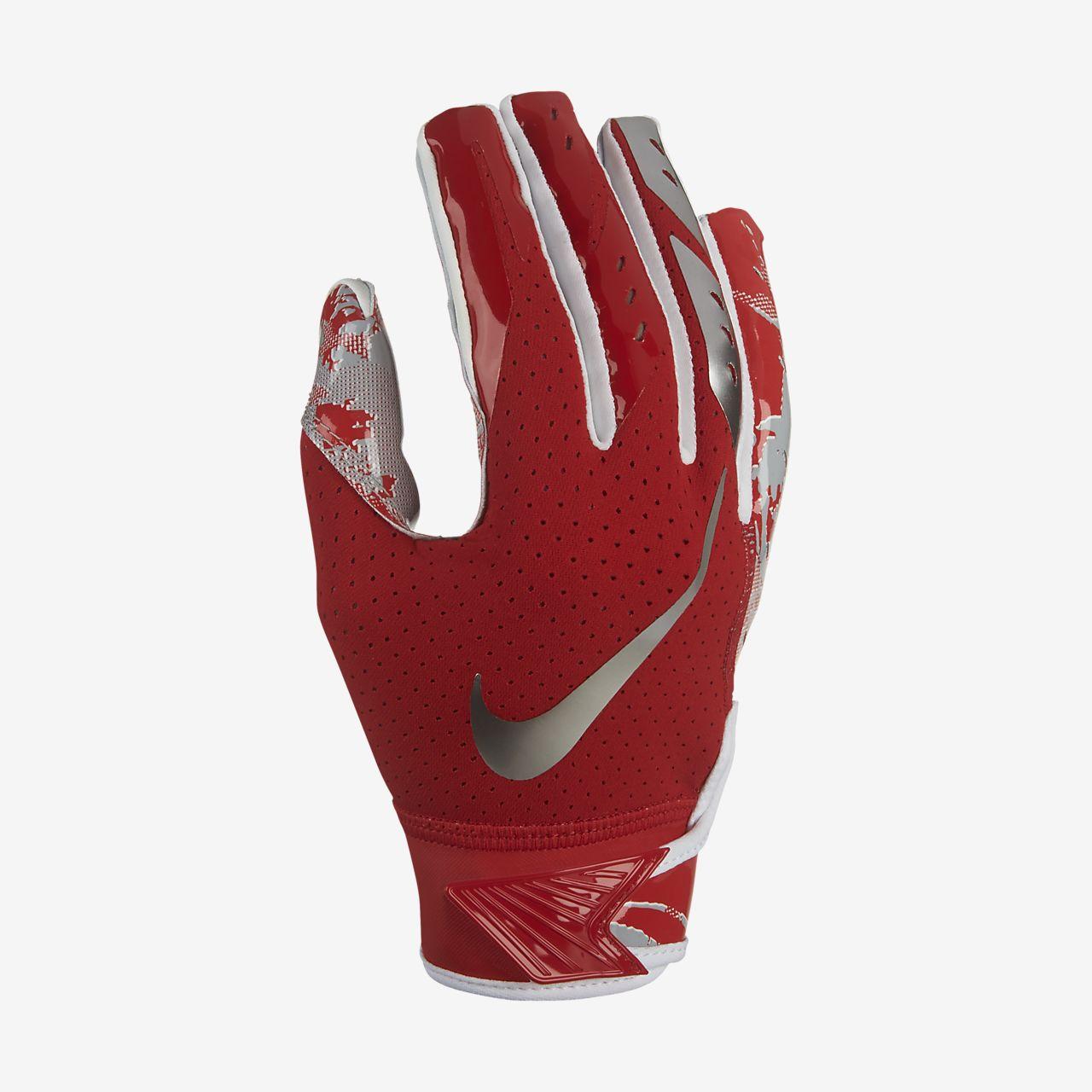 Nike Football Gloves Youth Size Chart: Nike Vapor Jet 5.0 Kids' Football Gloves. Nike.com