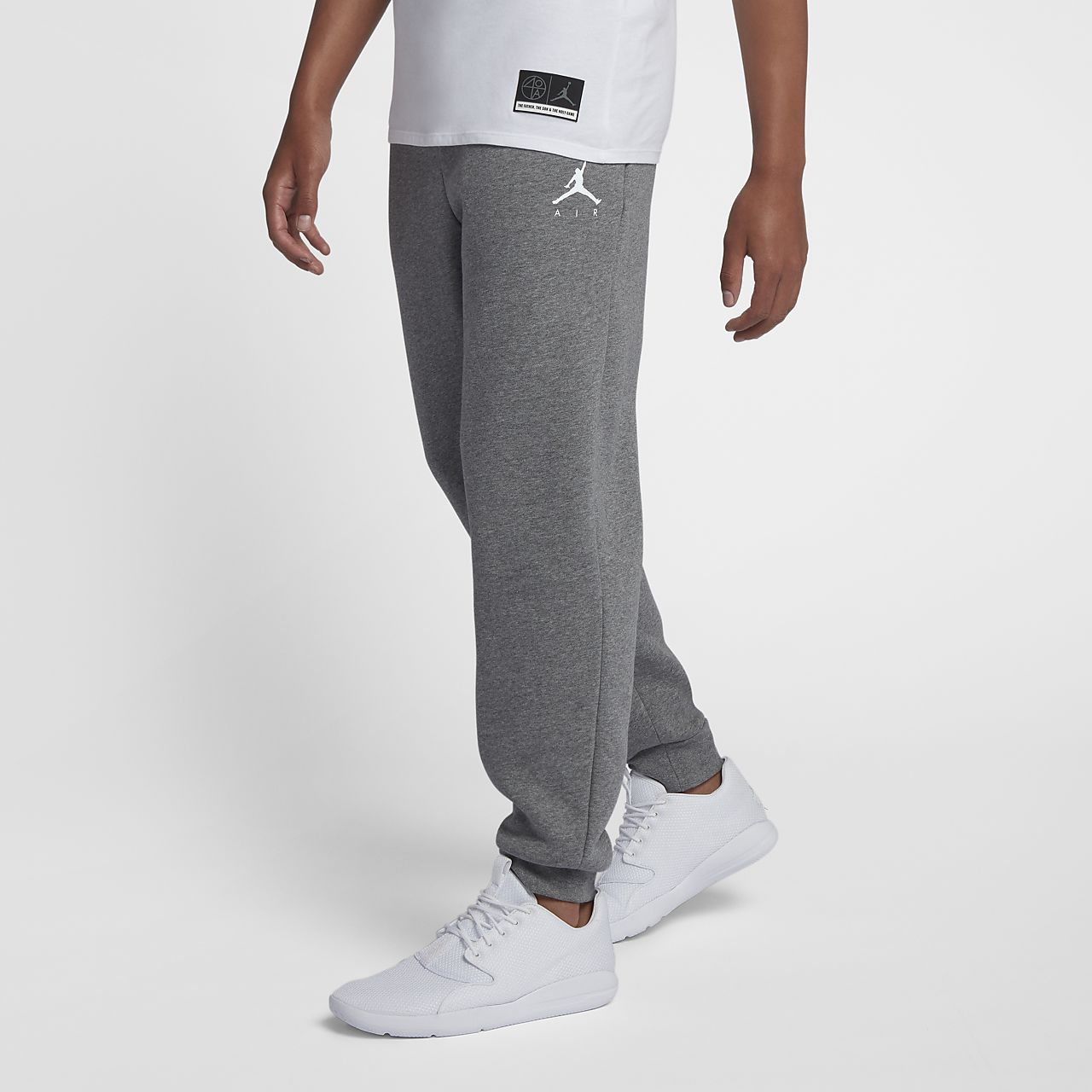 1205336a06bb83 Jordan Jumpman Air Men s Fleece Pants. Nike.com