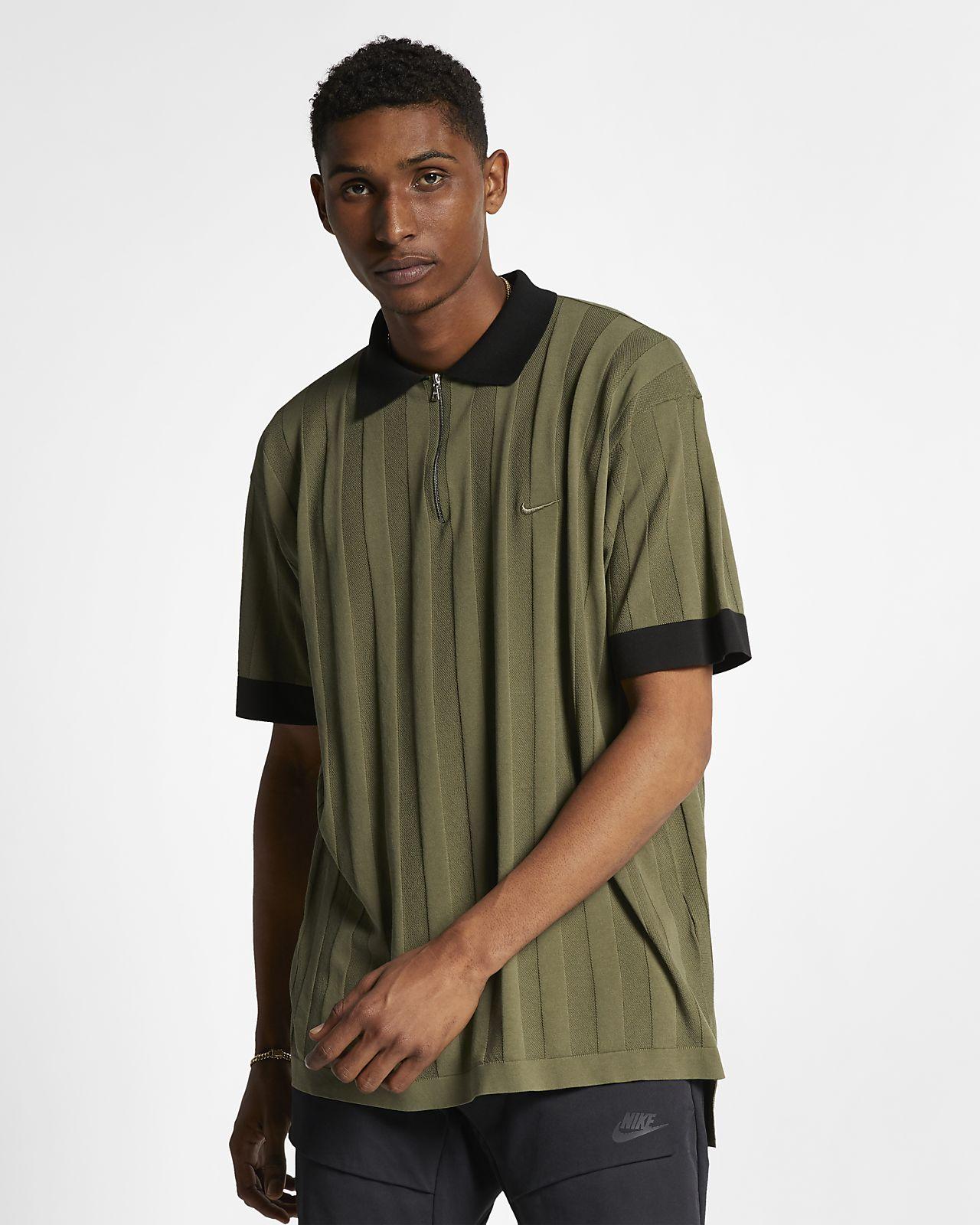 เสื้อโปโลผู้ชายแบบทอ NikeLab Made in Italy Collection