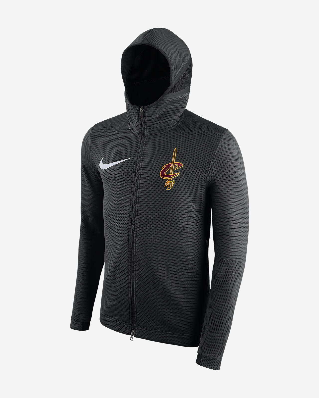 best service d8d58 1d04e Cleveland Cavaliers Nike Therma Flex Showtime Men's NBA Hoodie