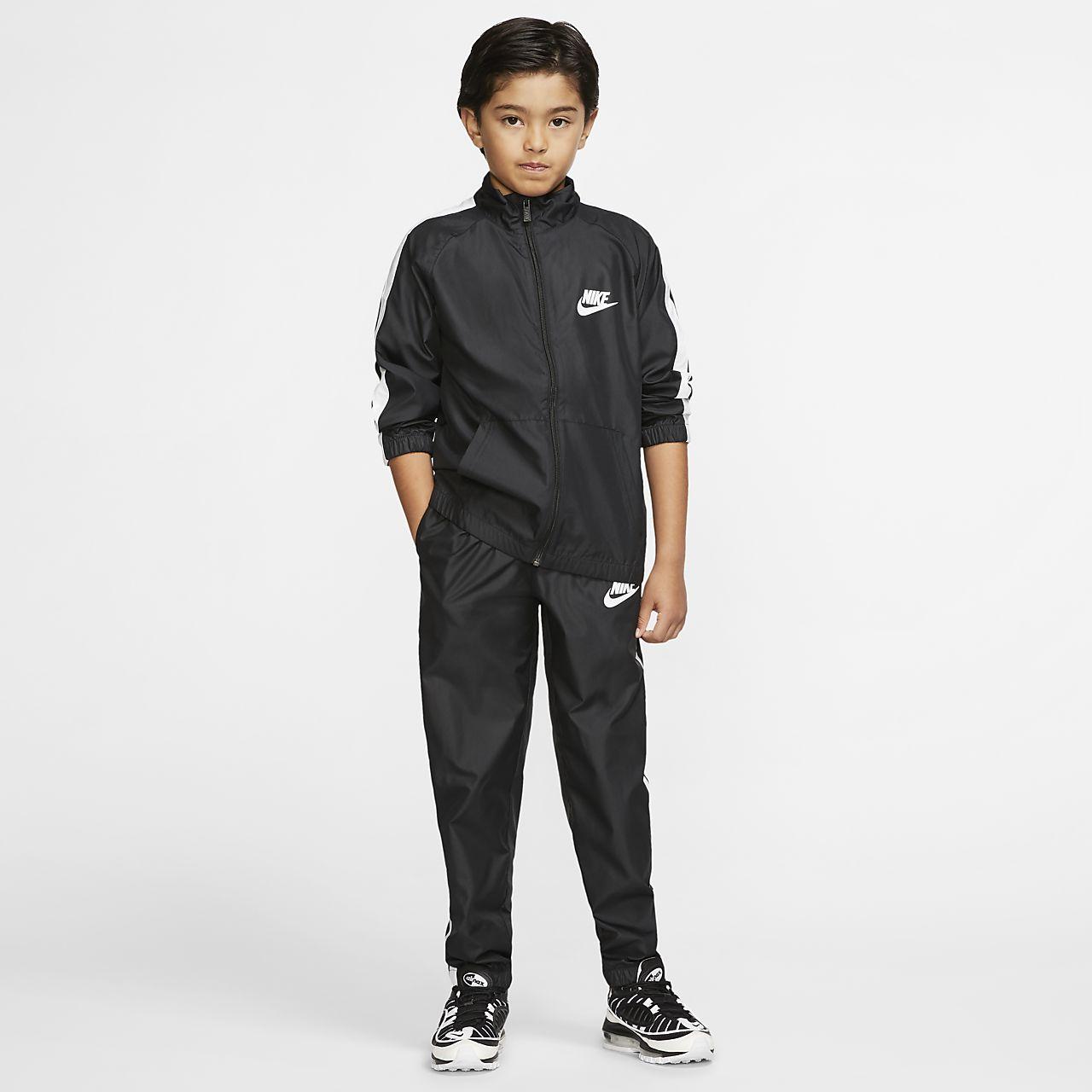cc025d5c6 Nike Sportswear Older Kids  Woven Tracksuit. Nike.com BE