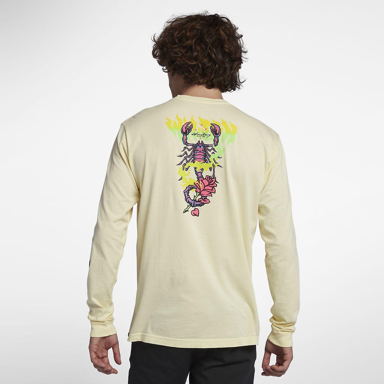 Hurley Team Wilson Langarm-T-Shirt für Herren