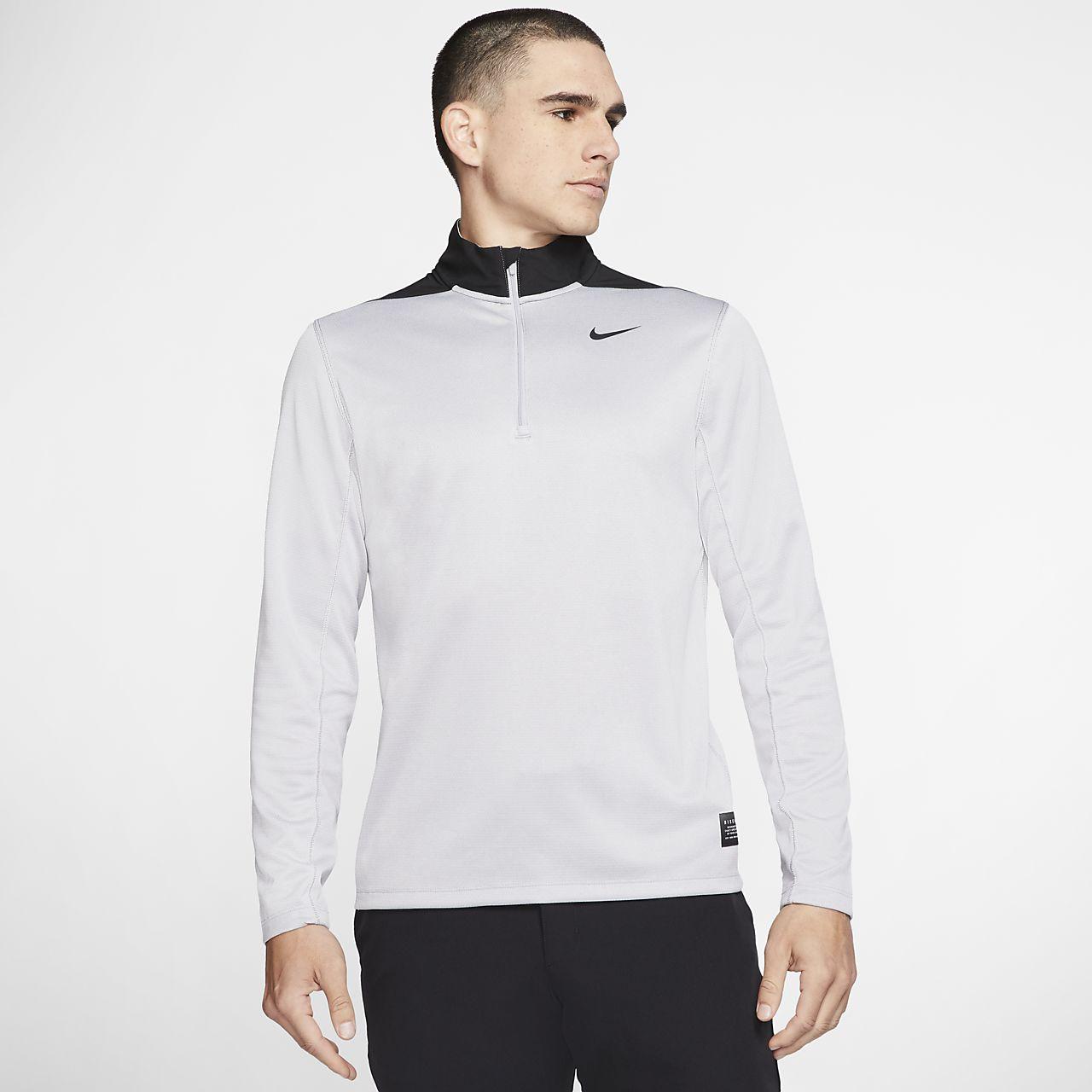 Camisola de golfe com fecho a 1/2 Nike Dri-FIT para homem