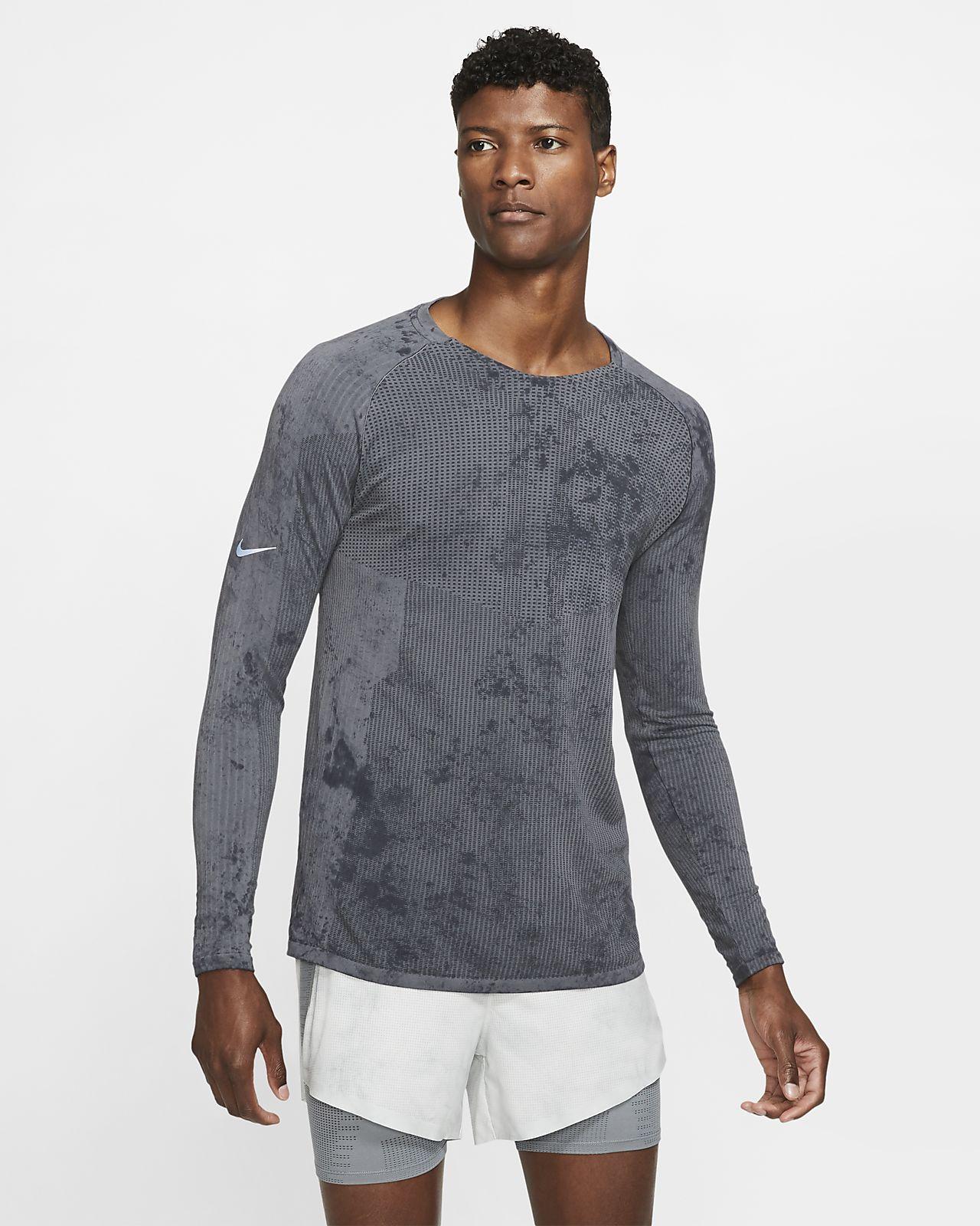 Prenda para la prte superior de manga larga para hombre Nike Tech Pack