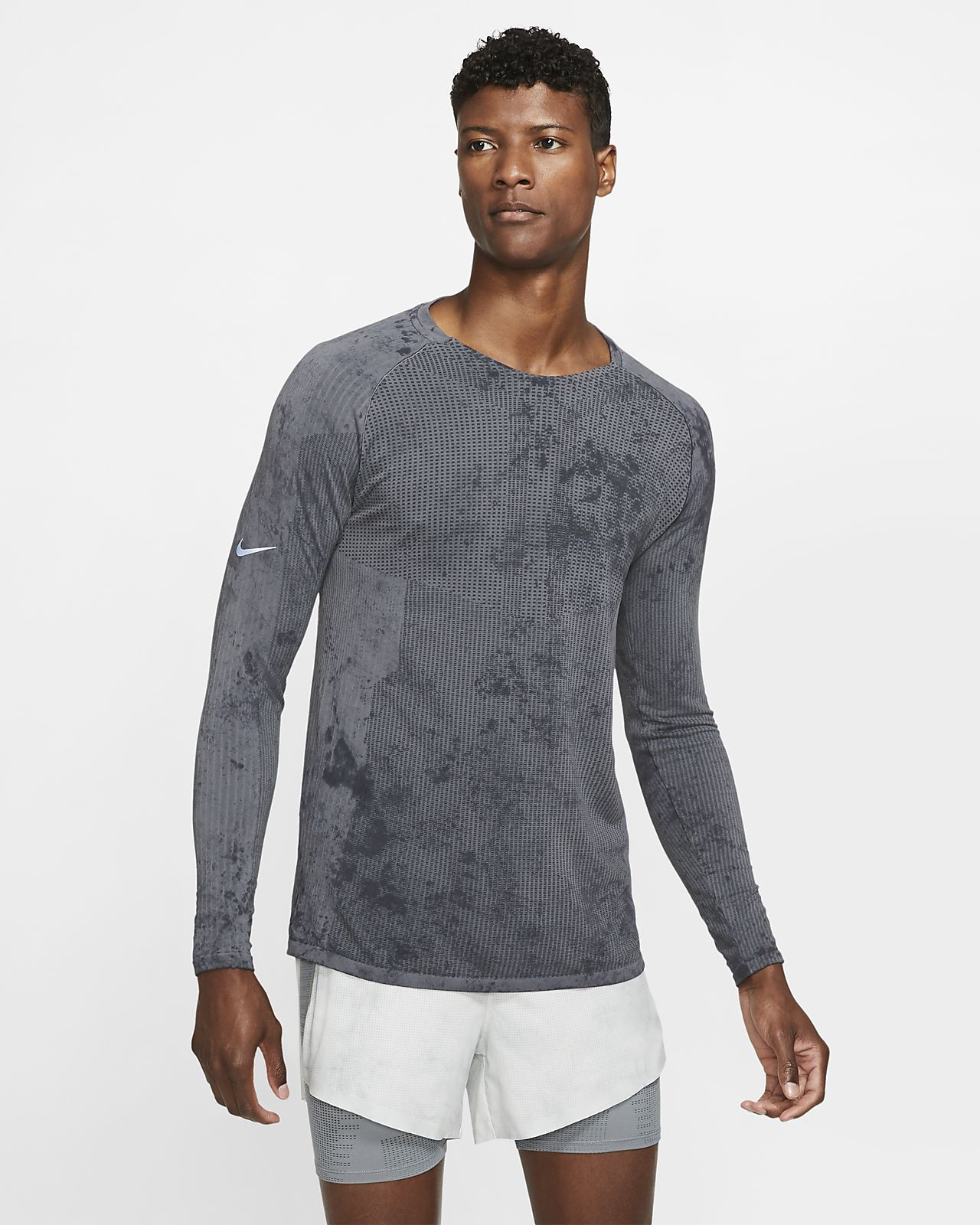 Nike Tech Pack Uzun Kollu Erkek Koşu Üstü