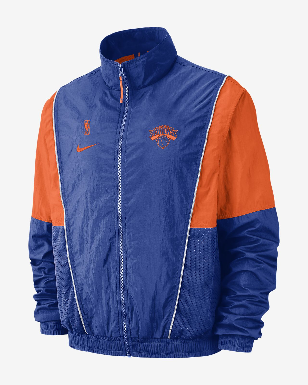 newest df983 c0041 New York Knicks Nike Men's NBA Tracksuit Jacket