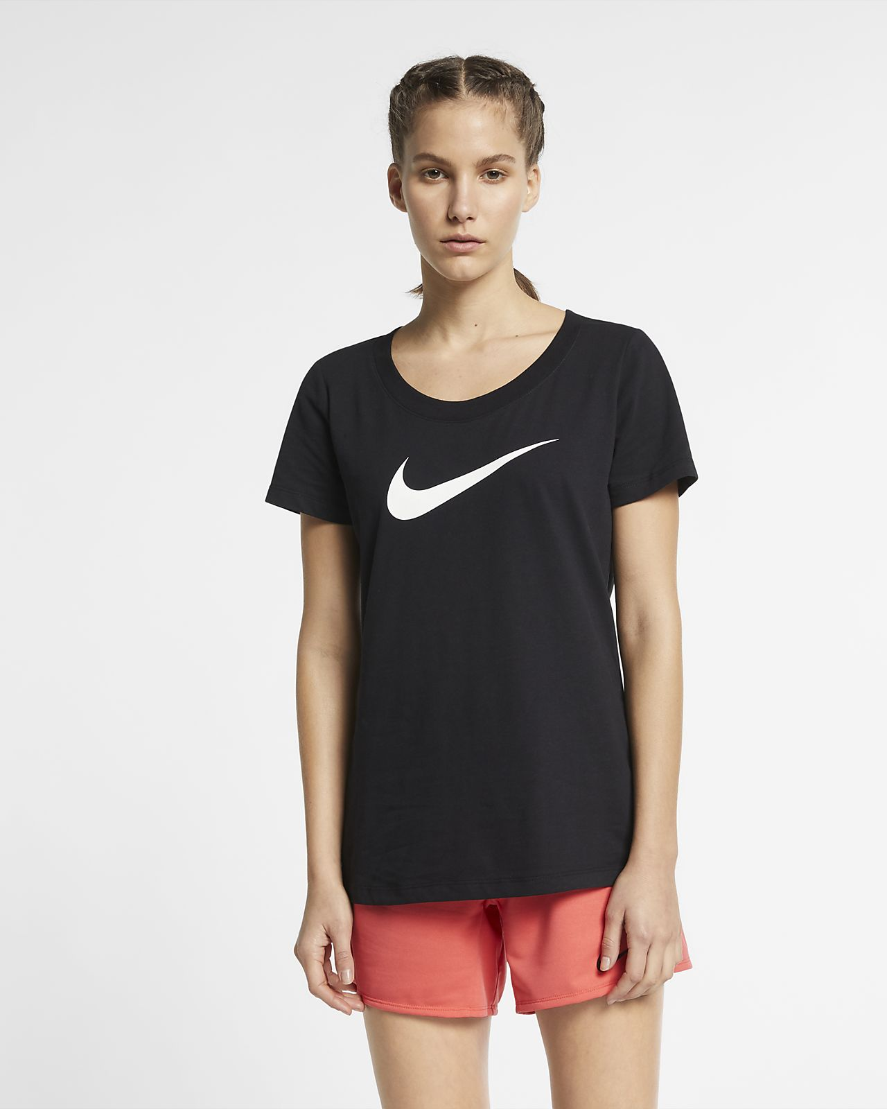 559d85b0ae2 NIKE公式】ナイキ Dri-FIT ウィメンズ スウッシュ トレーニング Tシャツ ...