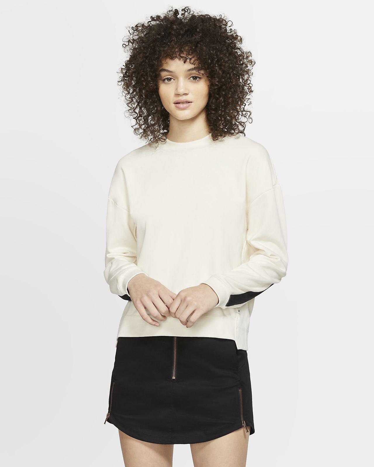 Hurley Dri-FIT Wash Fleeceshirt met ronde hals voor dames