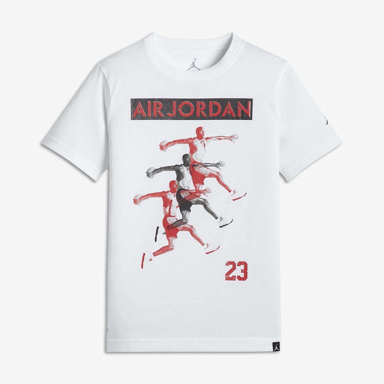 133e527d40c Tee-shirt Air Jordan pour Jeune garçon. Nike.com BE