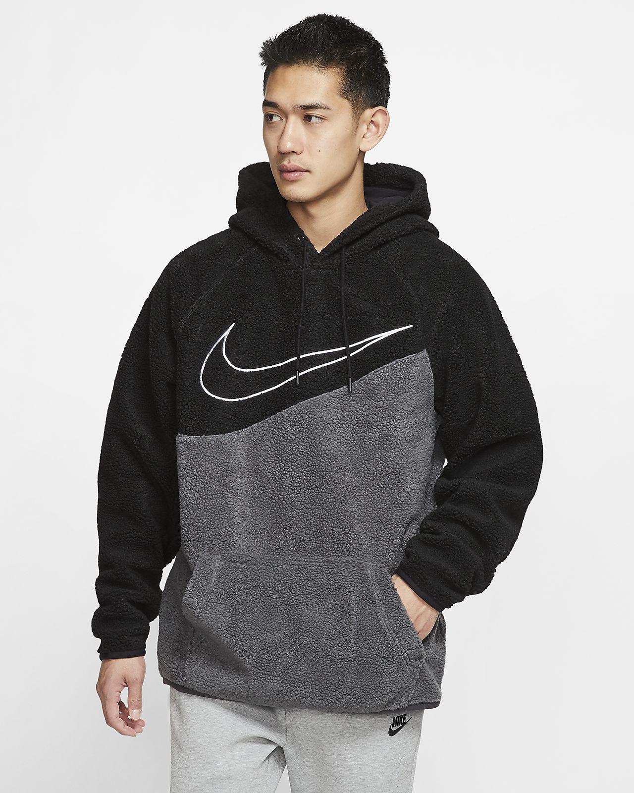 cheaper hot products new list Nike Sportswear Swoosh Sherpa Pullover Hoodie. Nike.com