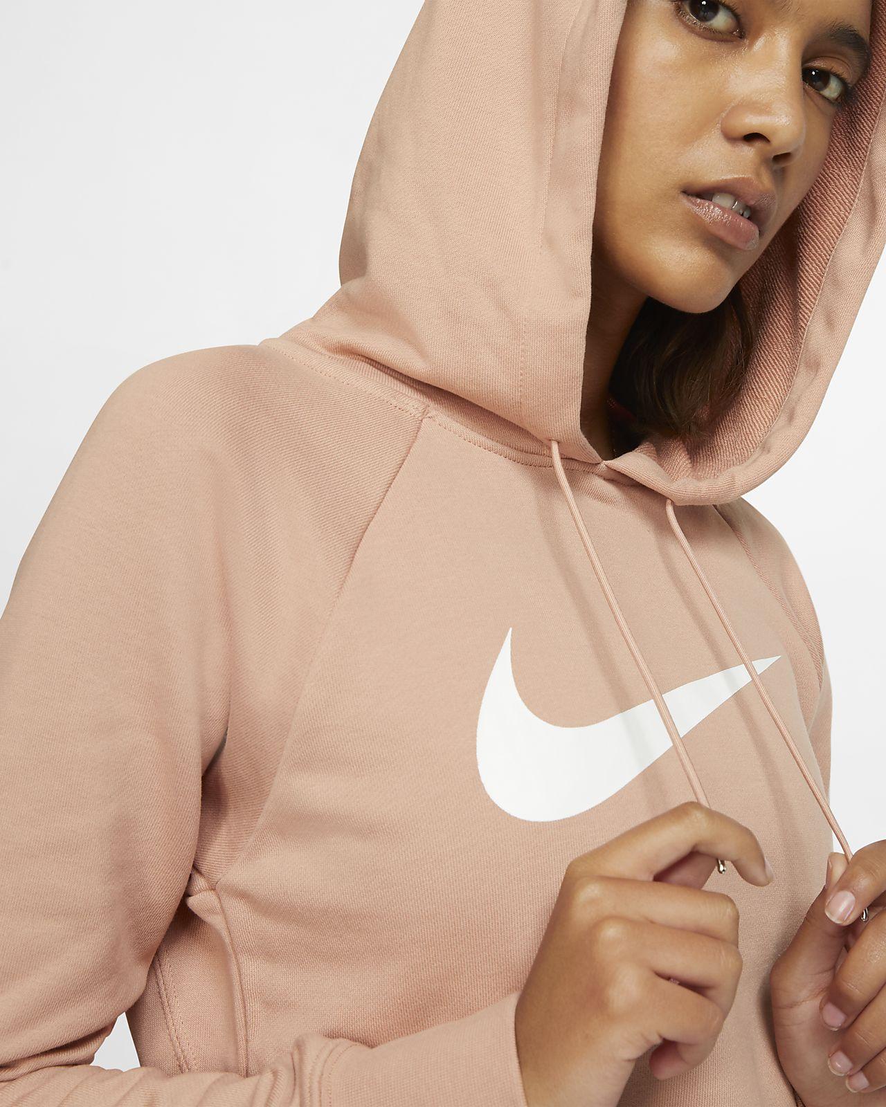 Capuche Sportswear Swoosh Femme Molleton Pour Sweat Court En Nike À QWCBoderx