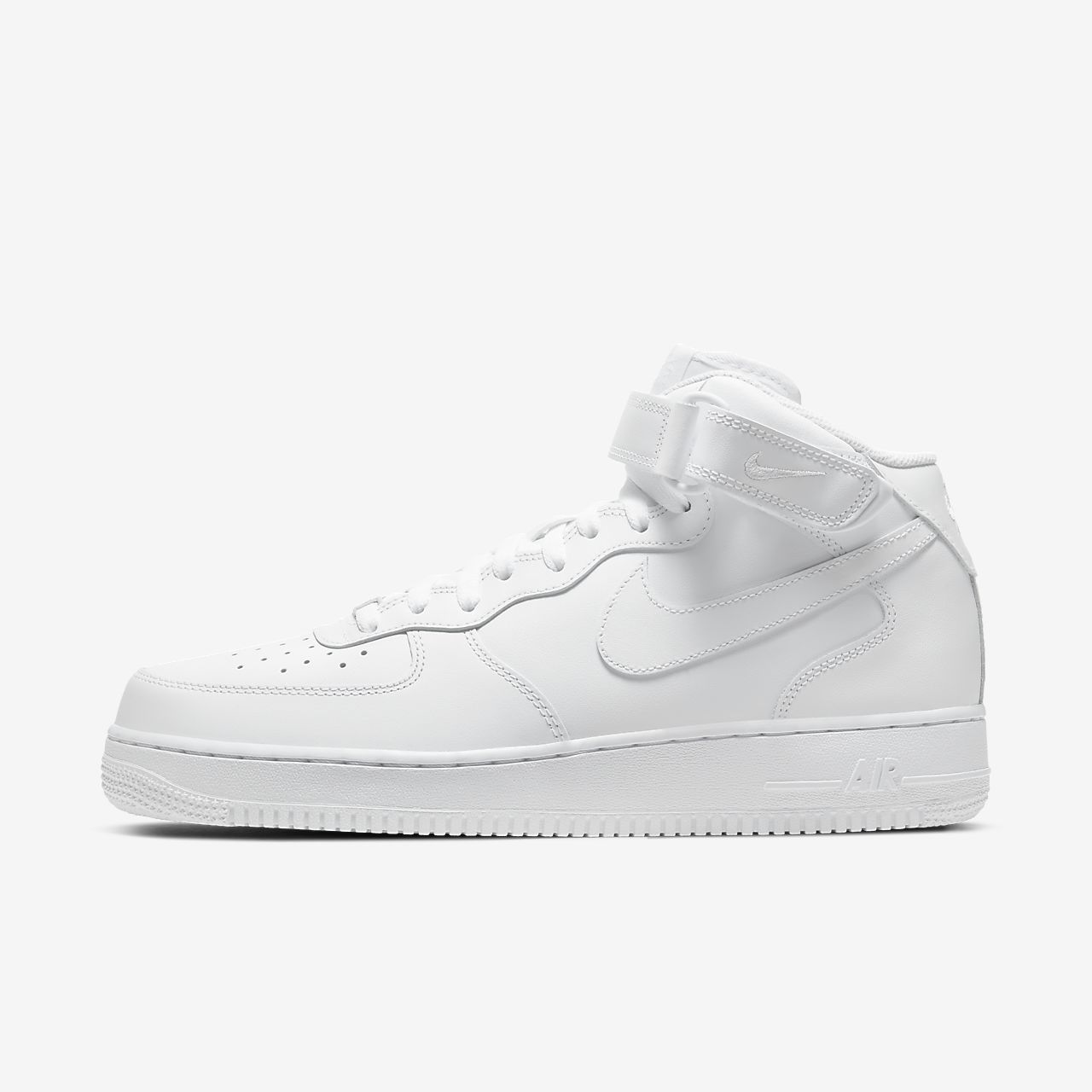 mens nike air force 1 mid black nz