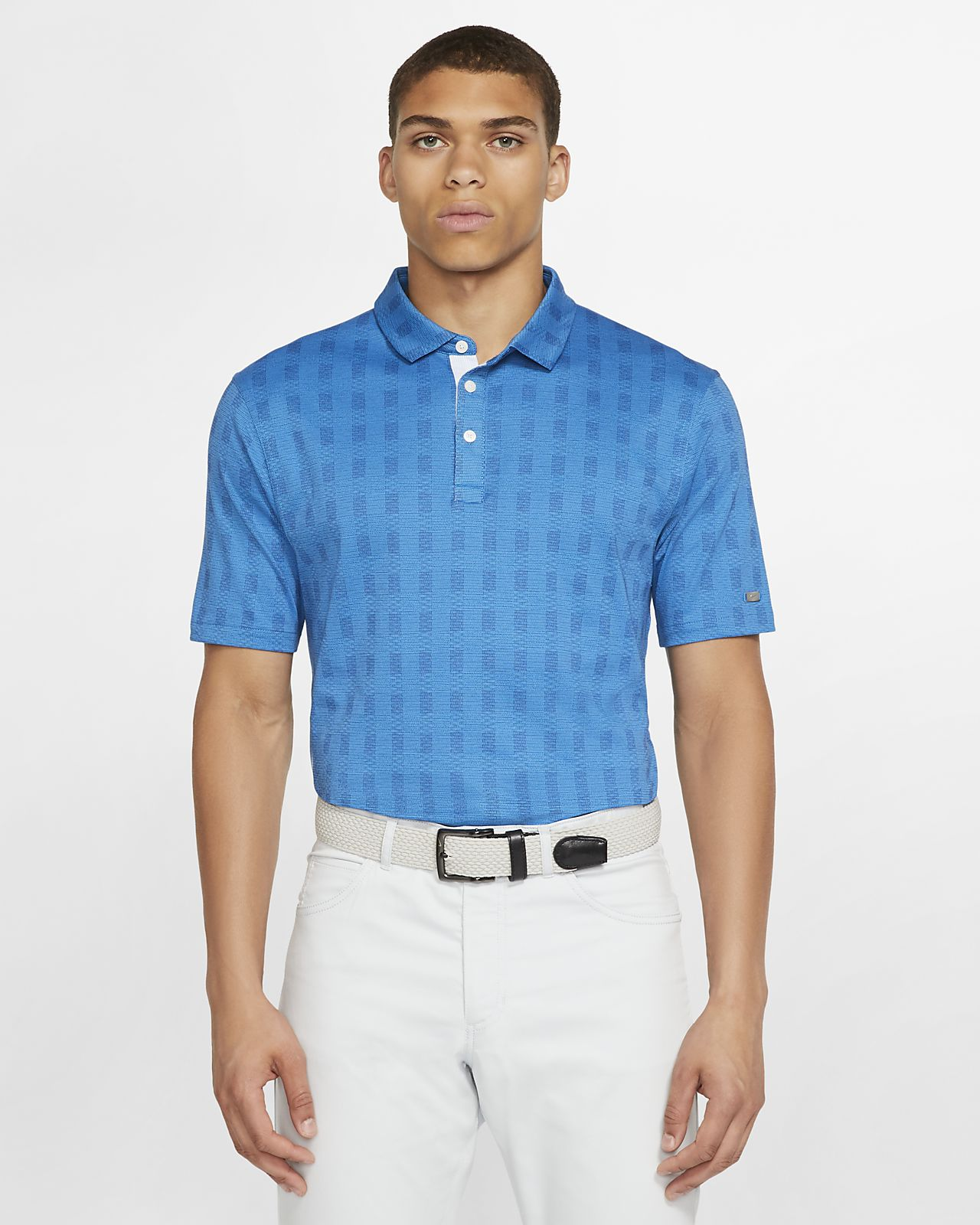 Nike Dri-FIT Player Men's Plaid Golf Polo