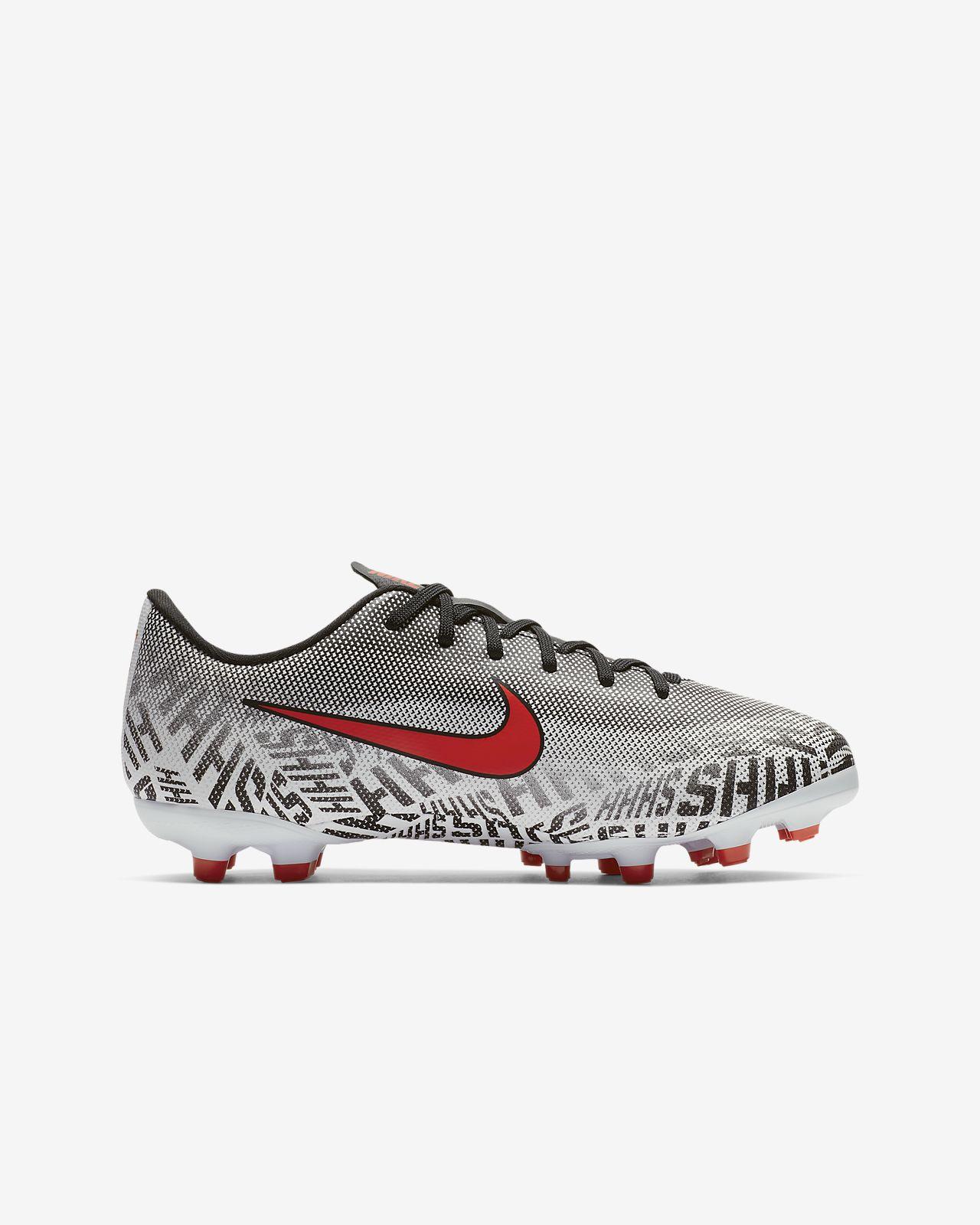 the best attitude 7dd93 a3c76 ... Nike Jr. Mercurial Vapor XII Academy Neymar Jr Fußballschuh für  verschiedene Böden für jüngere/