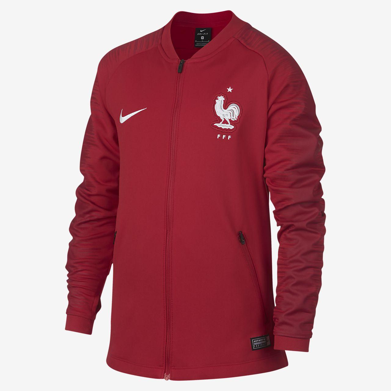 low priced size 7 classic FFF Anthem Older Kids' Football Jacket