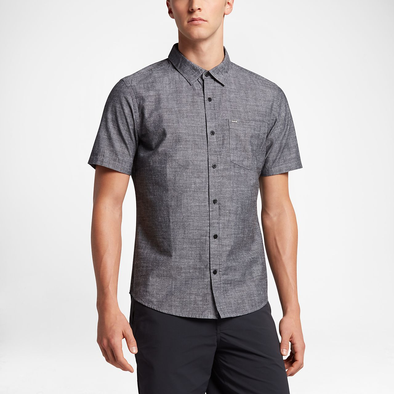 Hurley One And Only Men's Short Sleeve Shirt. Nike.com