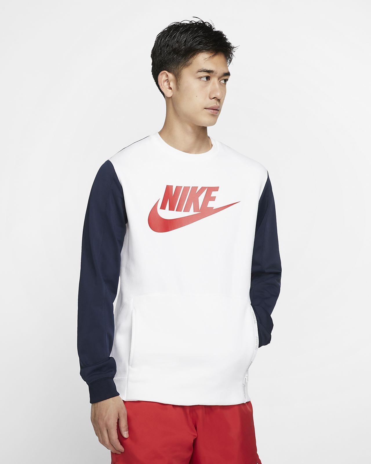 Pánská mikina Nike Sportswear s kulatým výstřihem