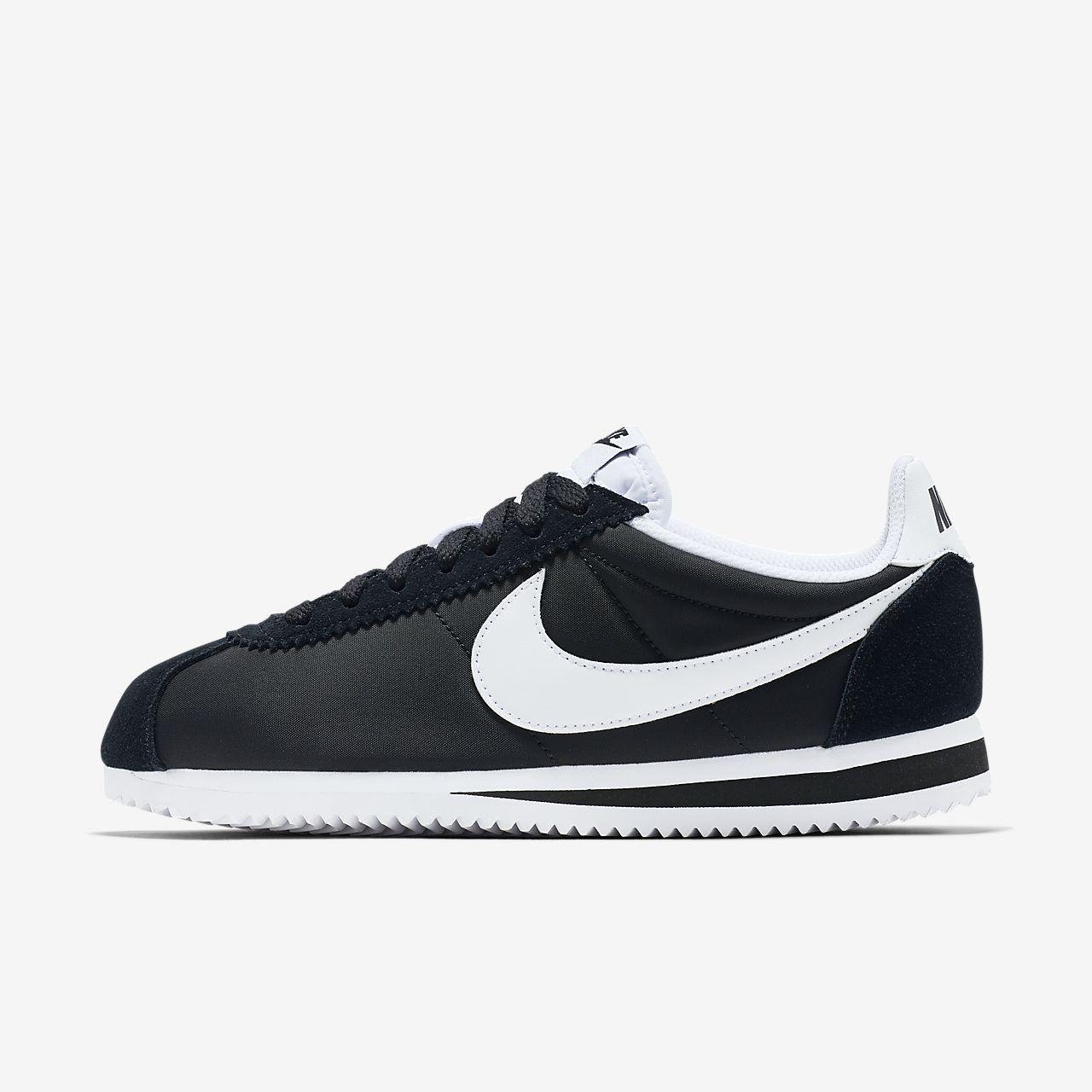 timeless design 55e29 4f442 ... Chaussure Nike Classic Cortez Nylon pour Femme