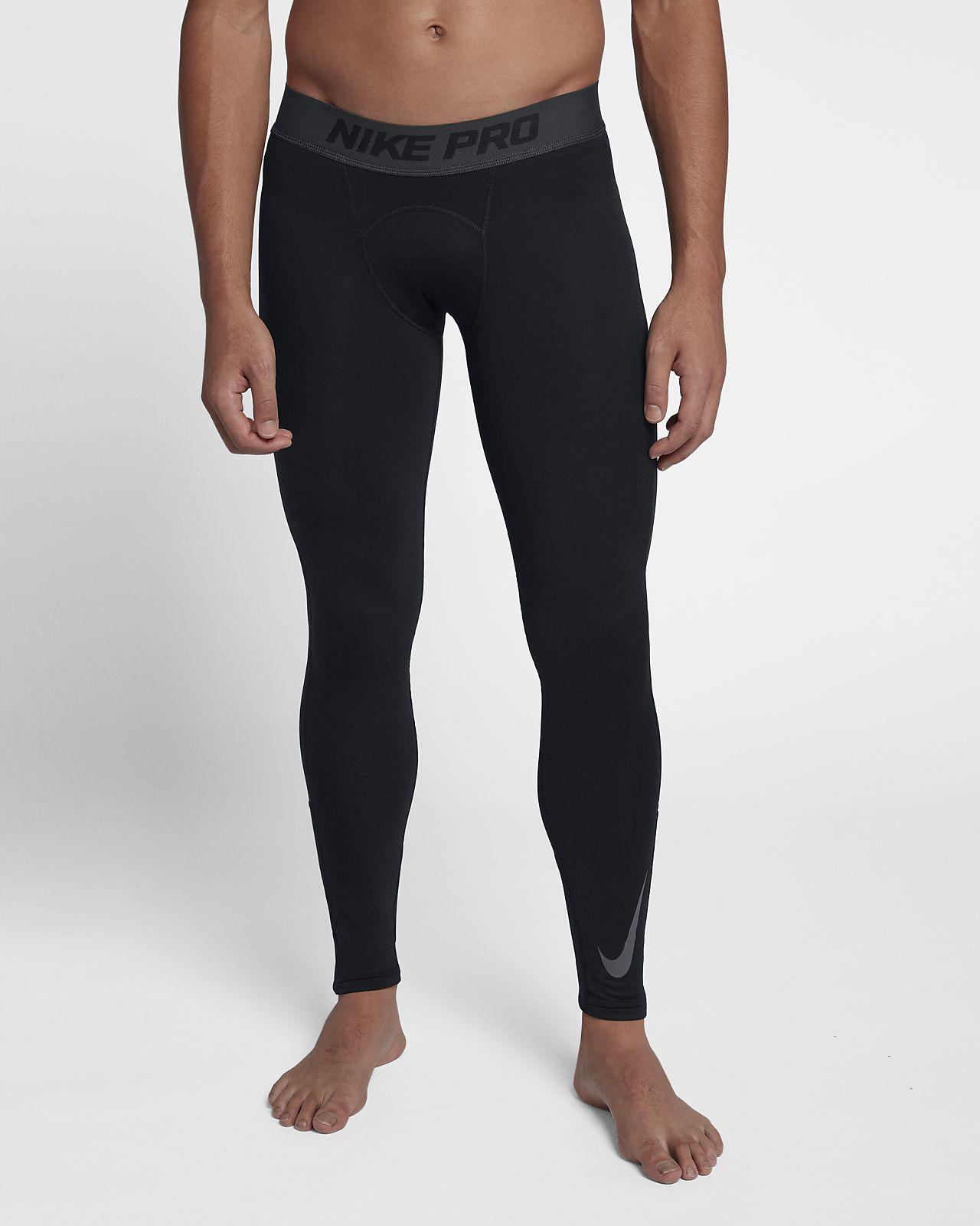 Leggings Nike Uomo | Tights Pro Core Grigio » BrekMagazine