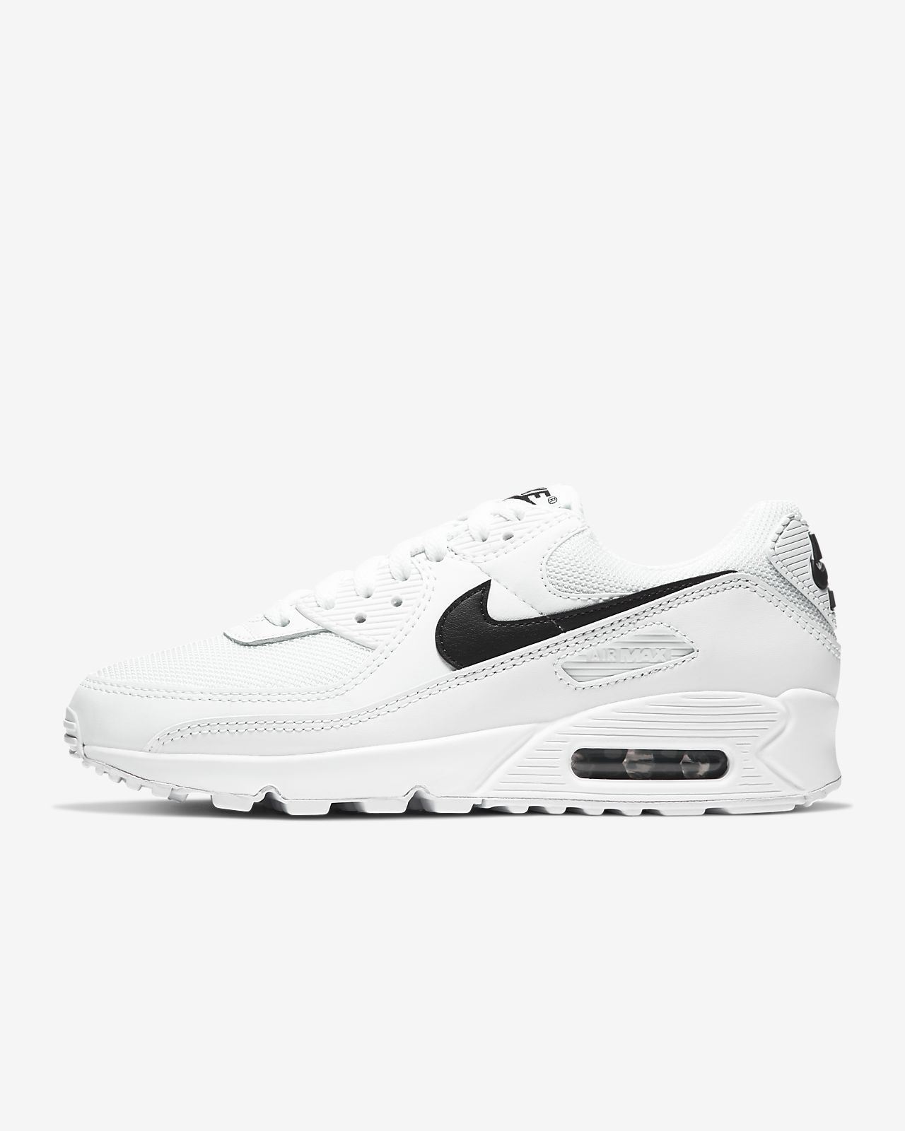 Nike Air Max 90 Women's Trainers Running Shoes White