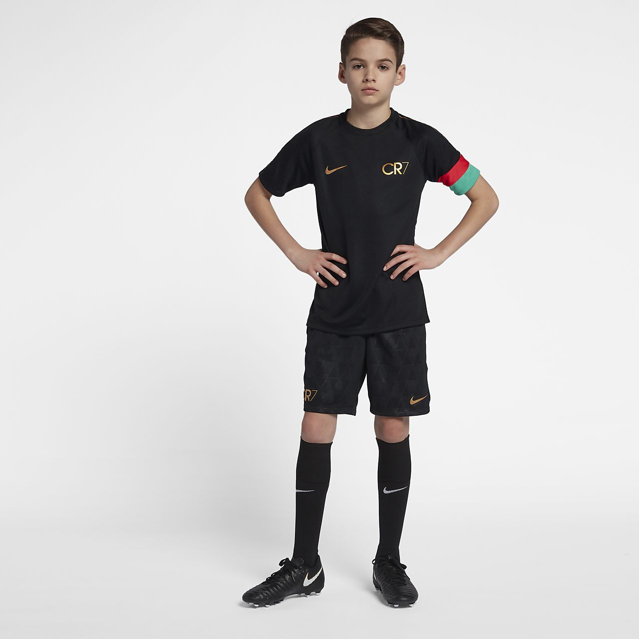 70389631683 Nike Dri-FIT Academy CR7 Older Kids  (Boys ) Football Shorts. Nike ...