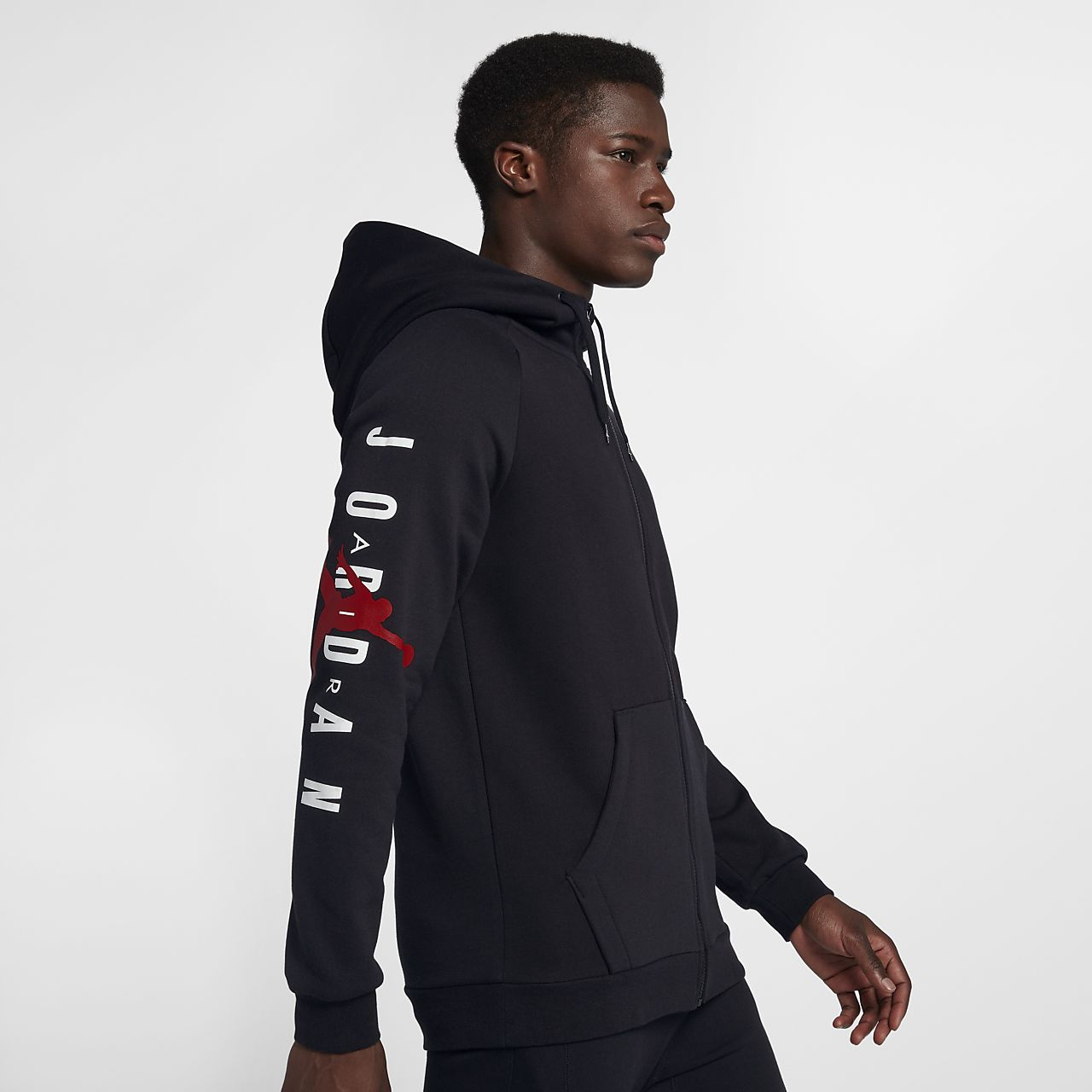 Jordan Jumpman Air Men s Fleece Full-Zip Hoodie. Nike.com NO 4135c74a31150