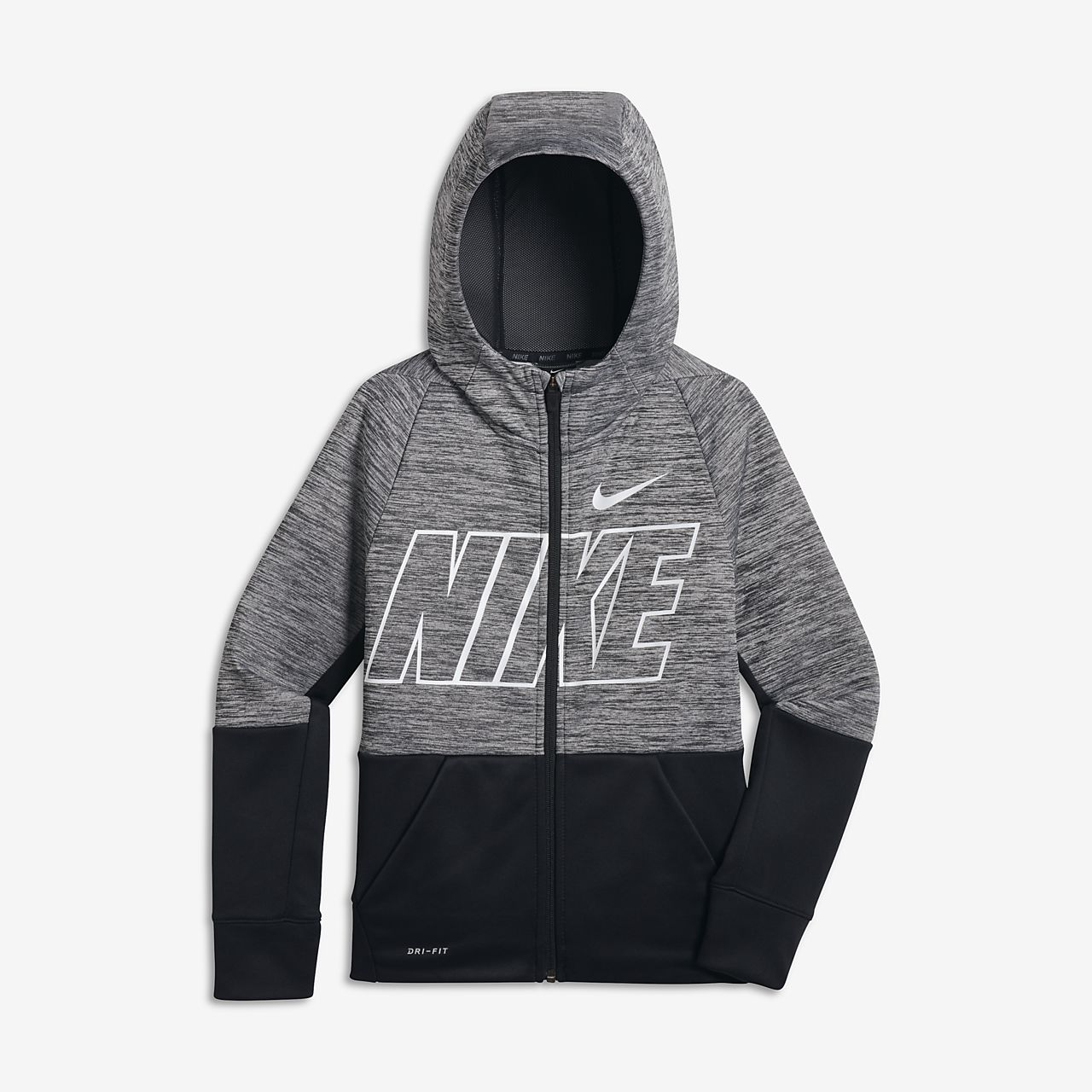 Fit Nike Entièrement À Sweat Capuche Dri Therma Zippé Training De q8IYTwa