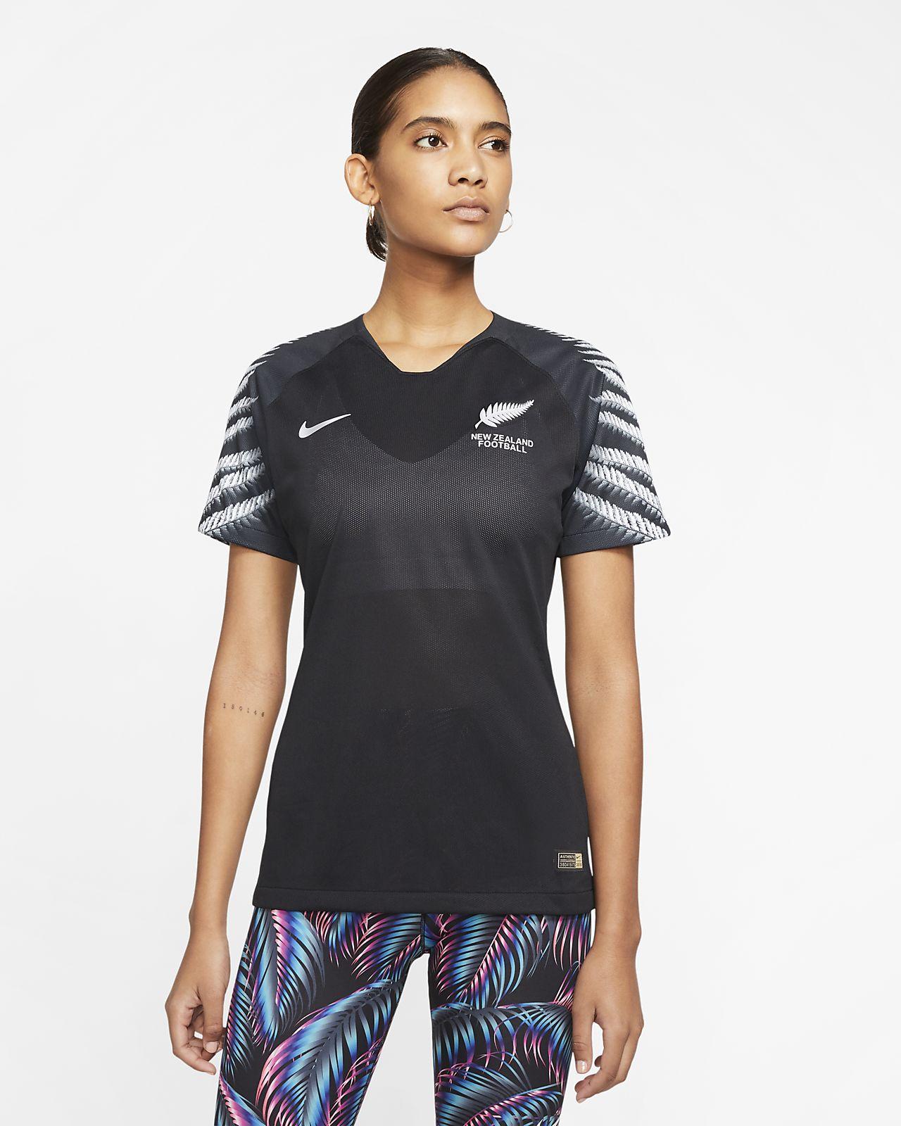 Camiseta de fútbol para mujer New Zealand 2019 Away