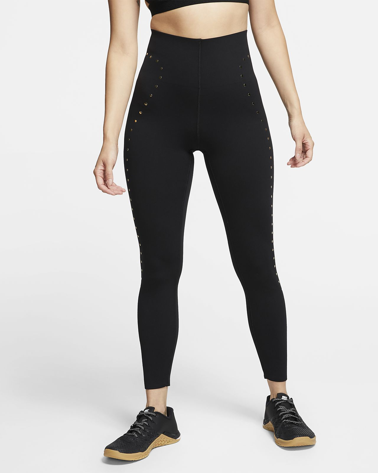 Nike Women's 7/8 Studded Training Tights