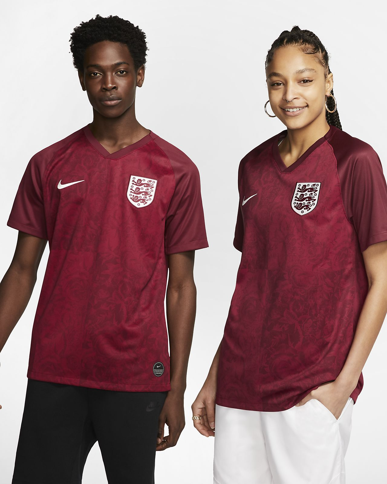 new products a8d30 5f57c England 2019 Stadium Away Men's Soccer Jersey