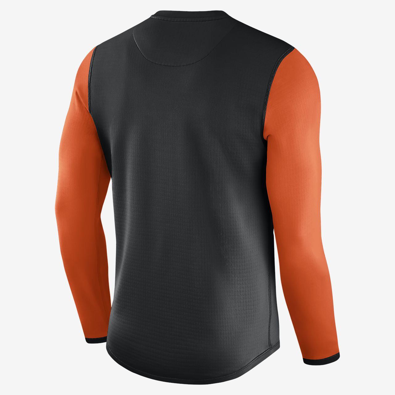 Nike Thermal Crew (MLB Orioles) Men's Long Sleeve Shirt. Nike.com
