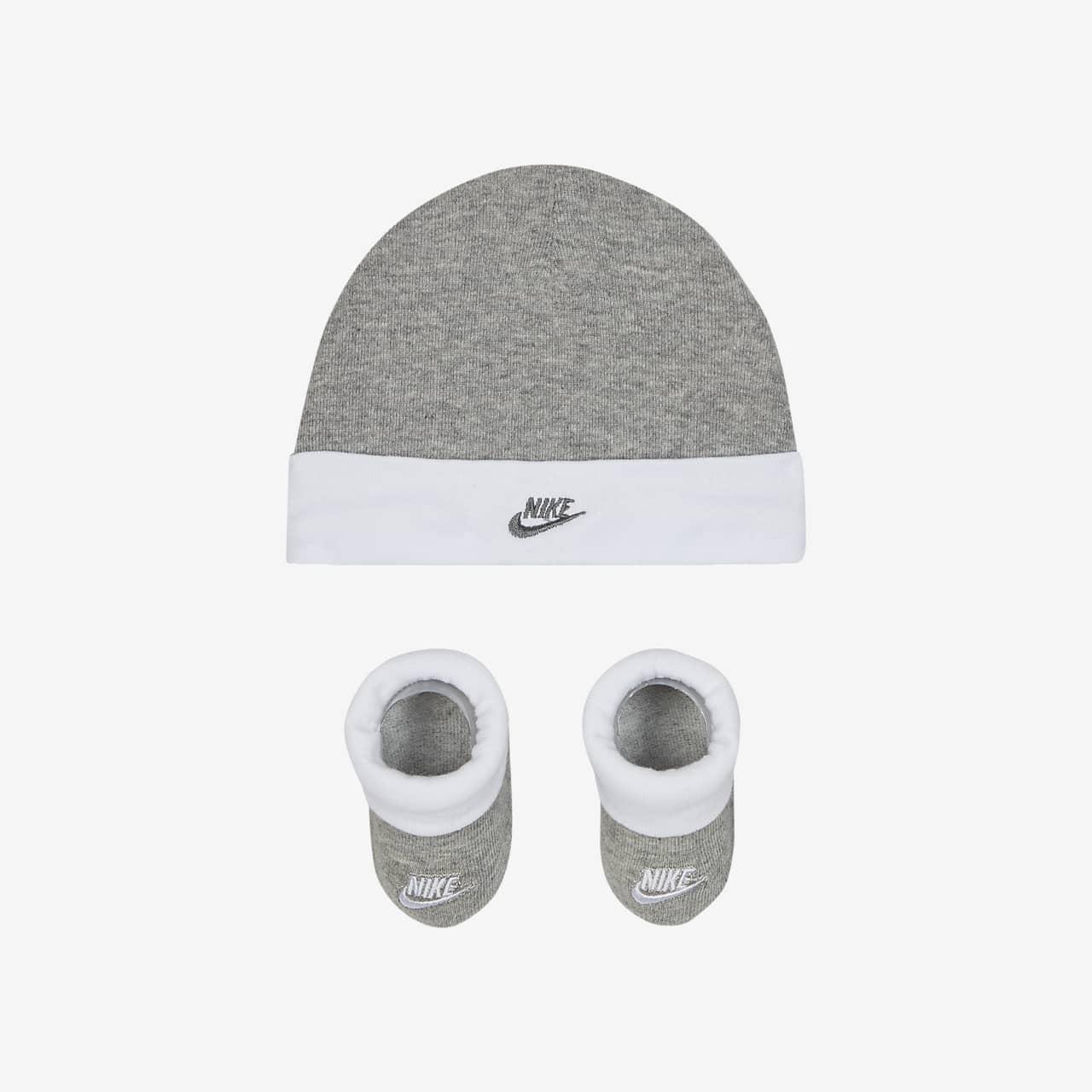 Zestaw czapka i buciki dla niemowląt Nike Sportswear