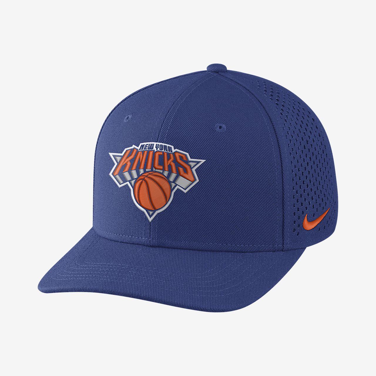 หมวก NBA ปรับได้ Unisex New York Knicks Nike AeroBill Classic99