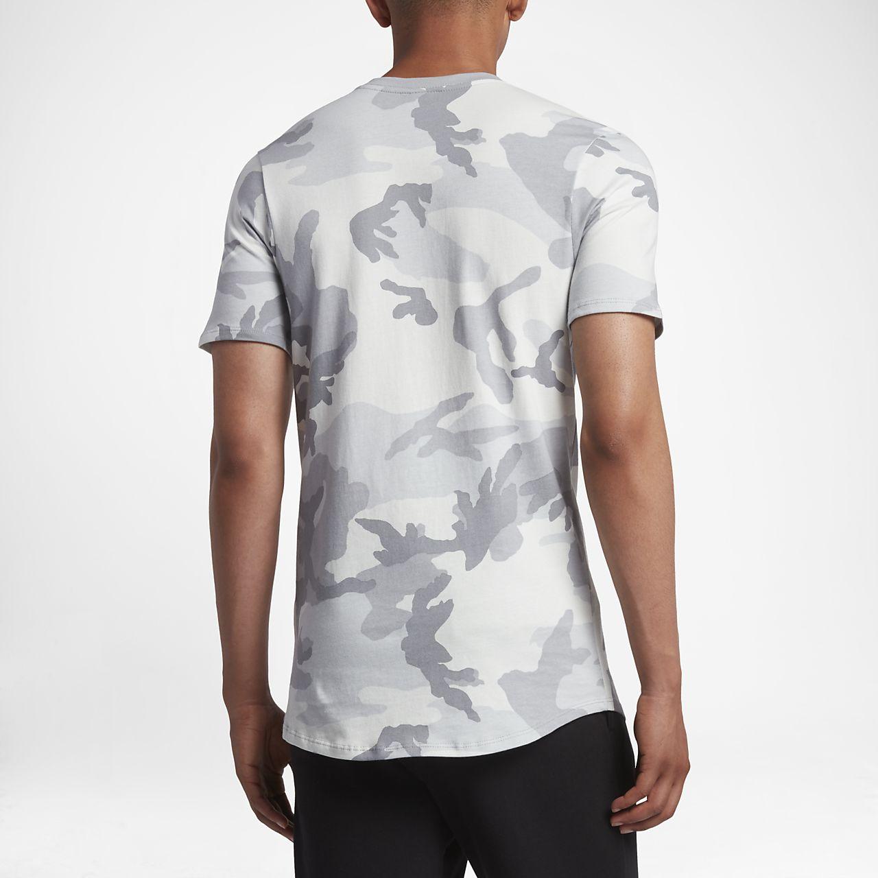 nike herren t shirt camouflage