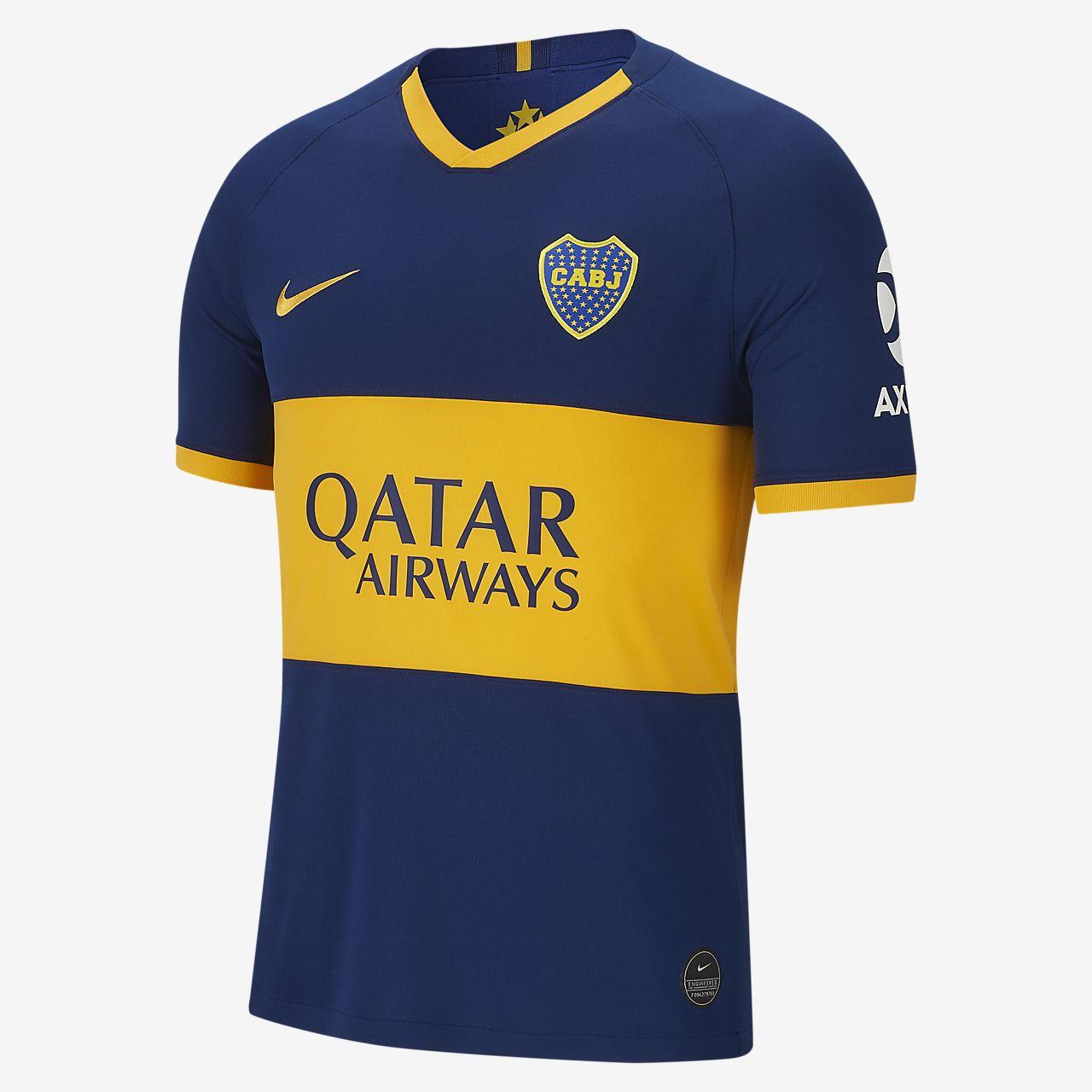 Boca Juniors 2019/20 Stadium Home fotballdrakt til herre