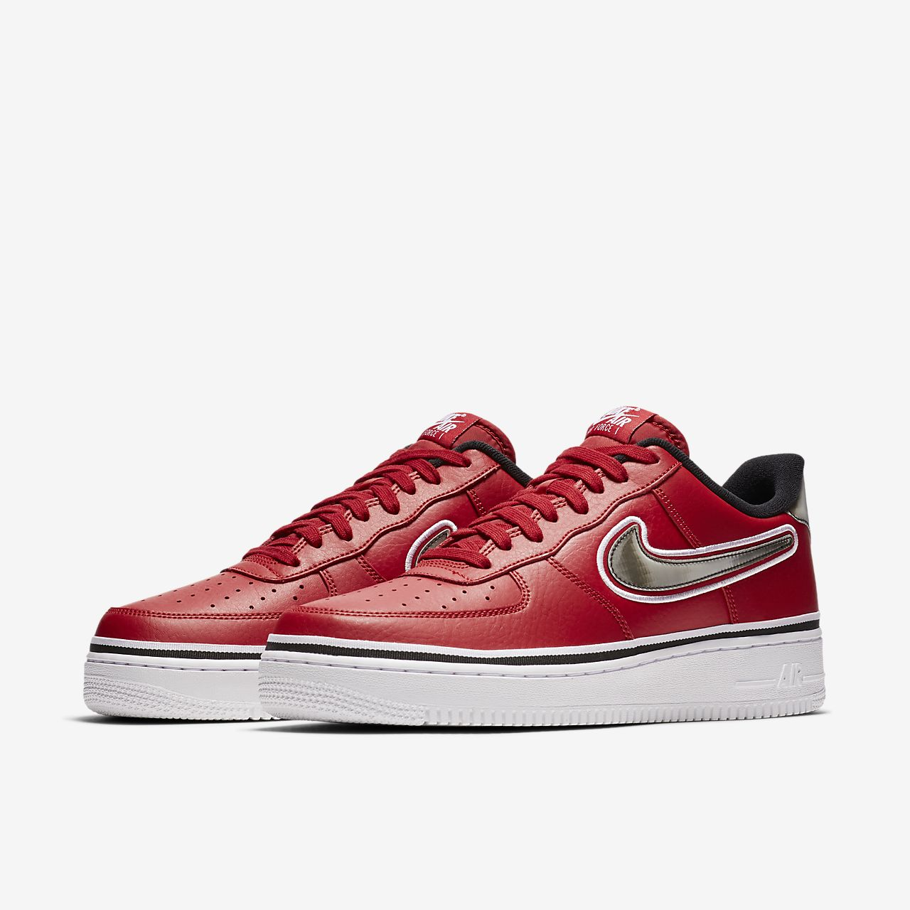 new arrival a61b3 774e2 ... Nike Air Force 1 NBA Low (Chicago Bulls) Men s Shoe