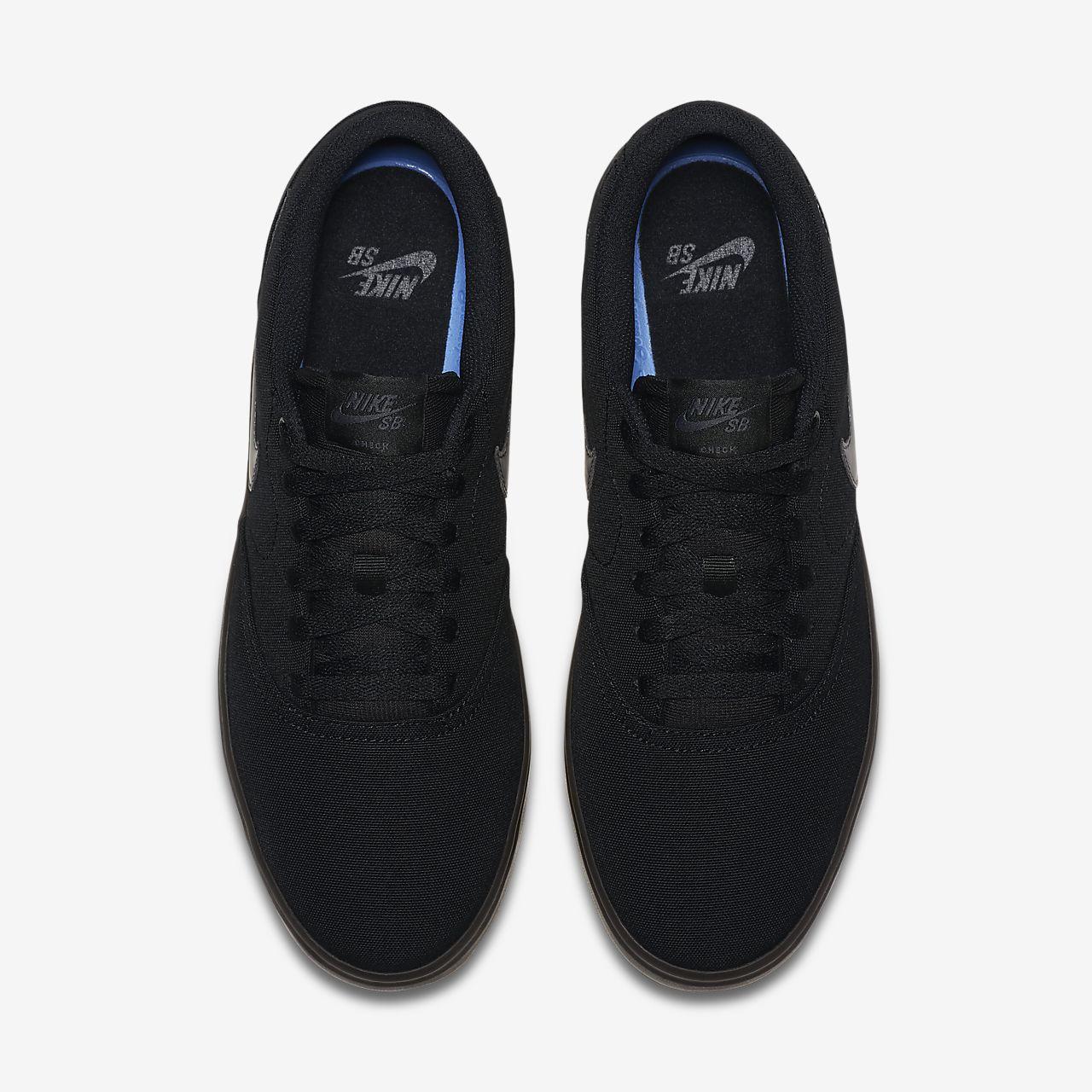 info for f5871 69062 ... Calzado de skateboarding para hombre Nike SB Check Solarsoft Canvas