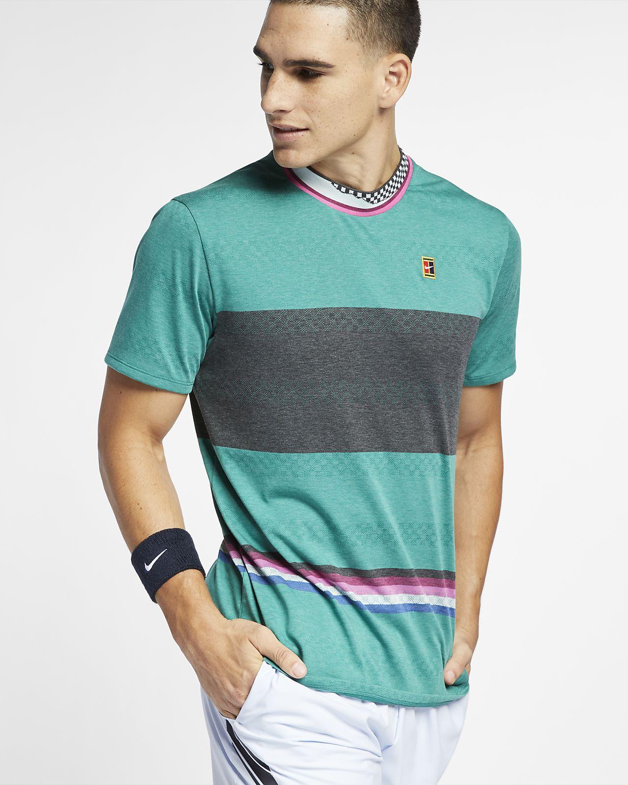 Camisola de ténis de manga curta NikeCourt Challenger para homem