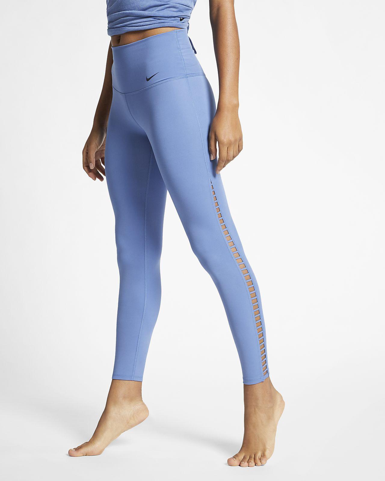 Nike Dri-FIT Power 7/8-Yoga-Trainings-Tights für Damen