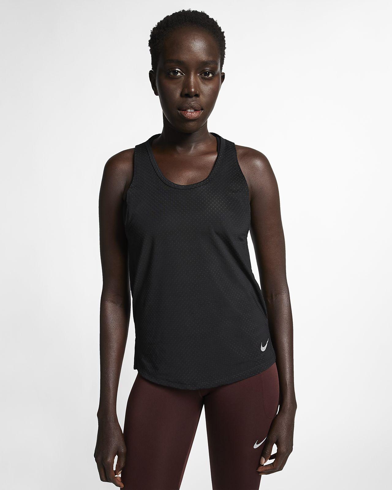Nike Breathe Miler Hardlooptanktop voor dames