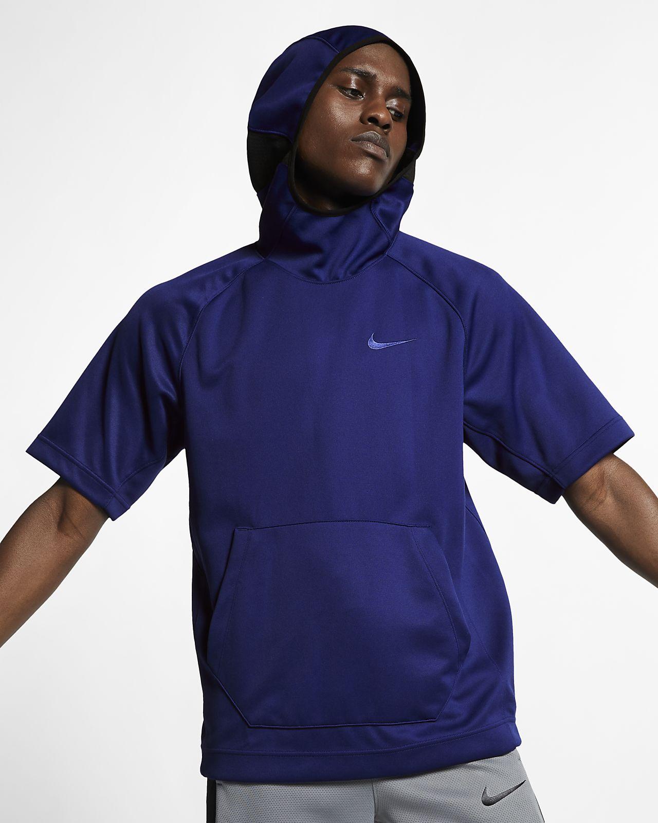 Nike Spotlight Men's Short-Sleeve Basketball Hoodie