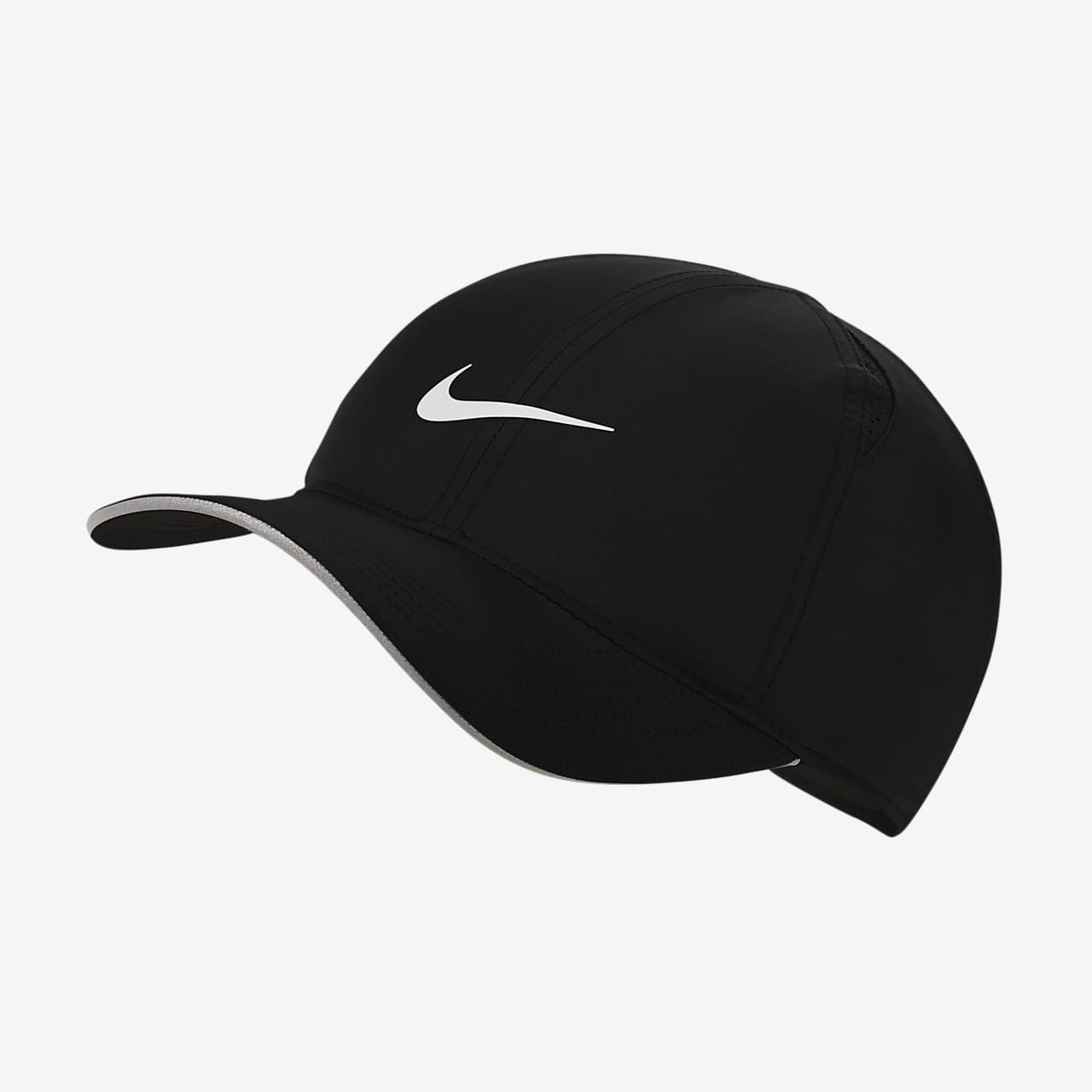 b3d8cf9783834 Nike Featherlight Adjustable Running Hat. Nike.com