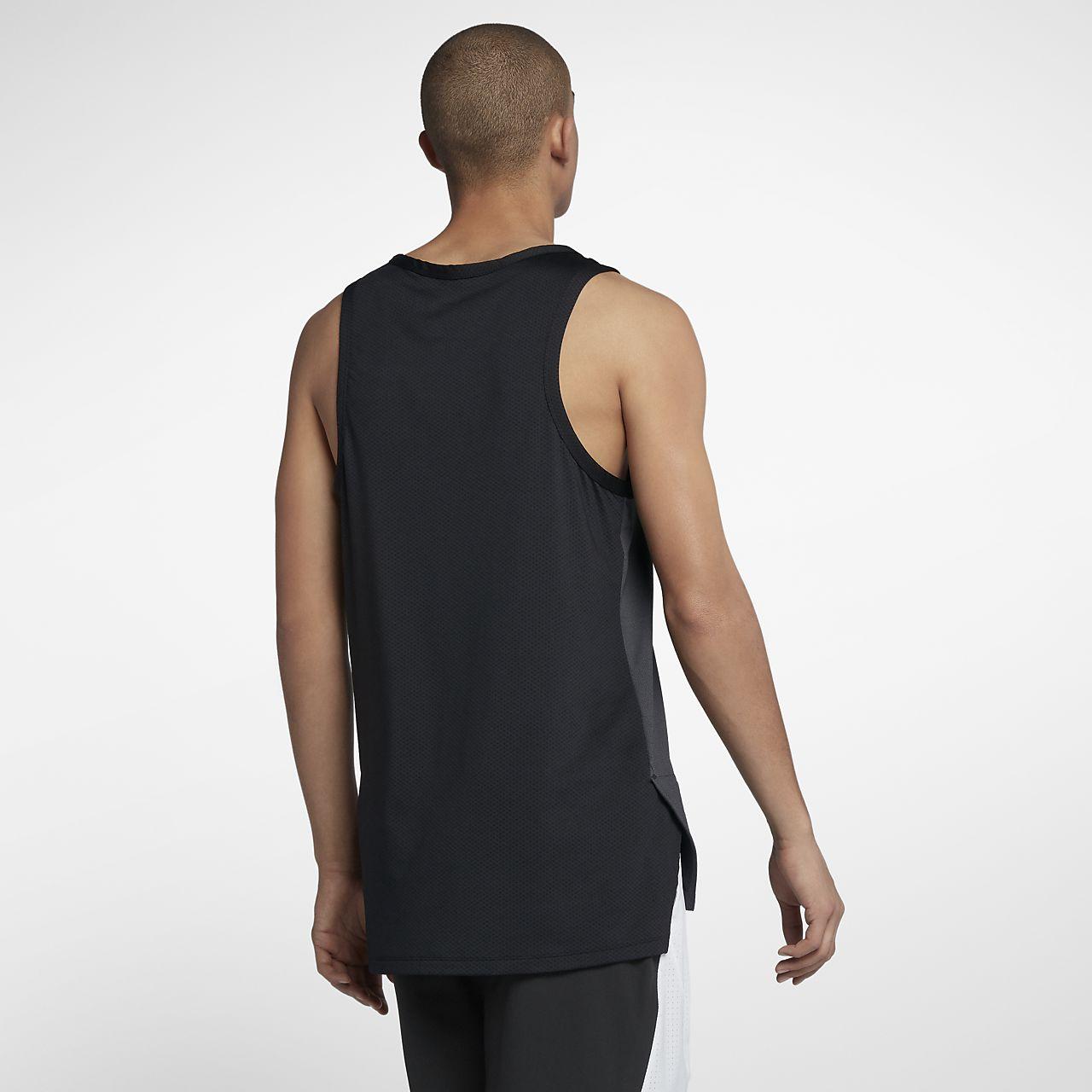 0d72e6f27174bd Nike Dry Hyper Elite Men s Sleeveless Basketball Top. Nike.com LU