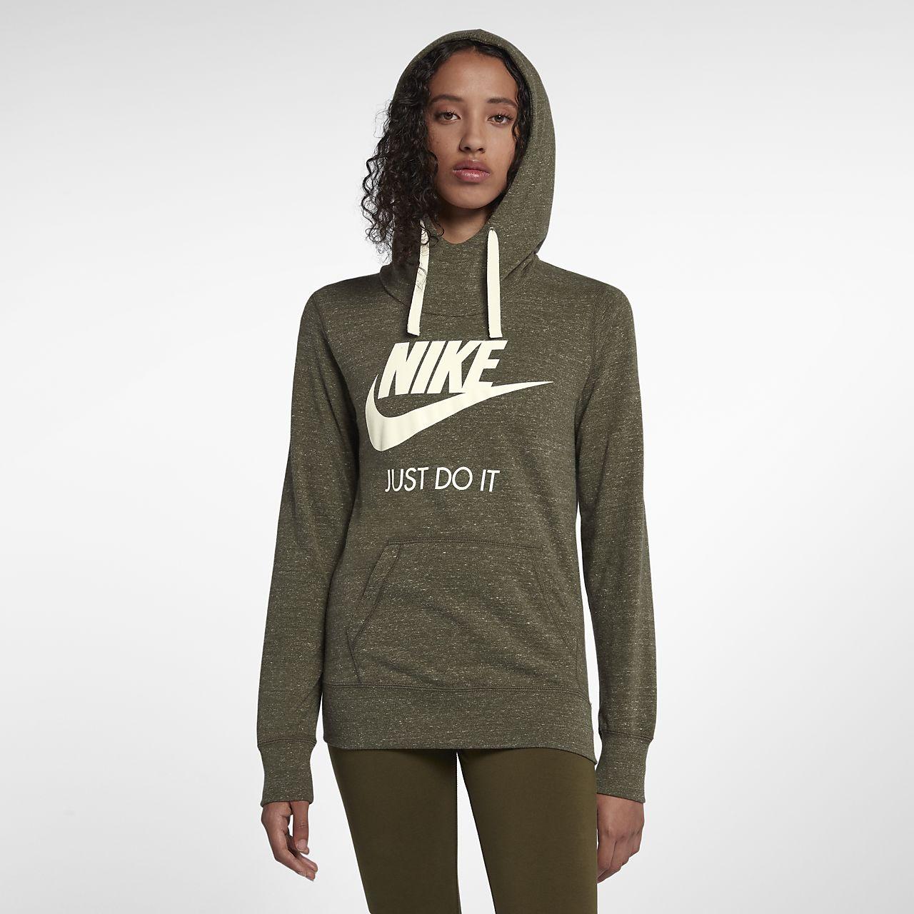 Gym Nike Hoodie Women's Pullover Vintage Sportswear gnTqWP0