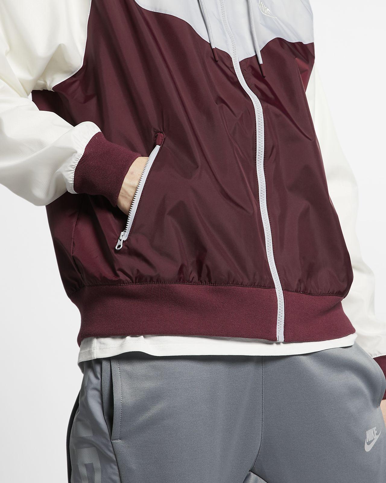 Nike Sportswear Windrunner Night MaroonWolf GreySailSail