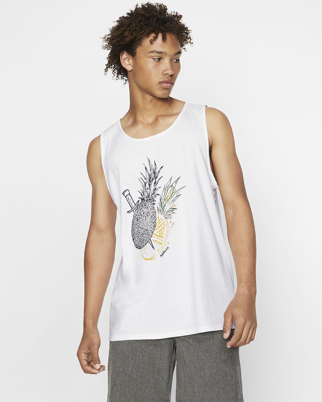 Męska koszulka bez rękawów Hurley Premium Paradiced