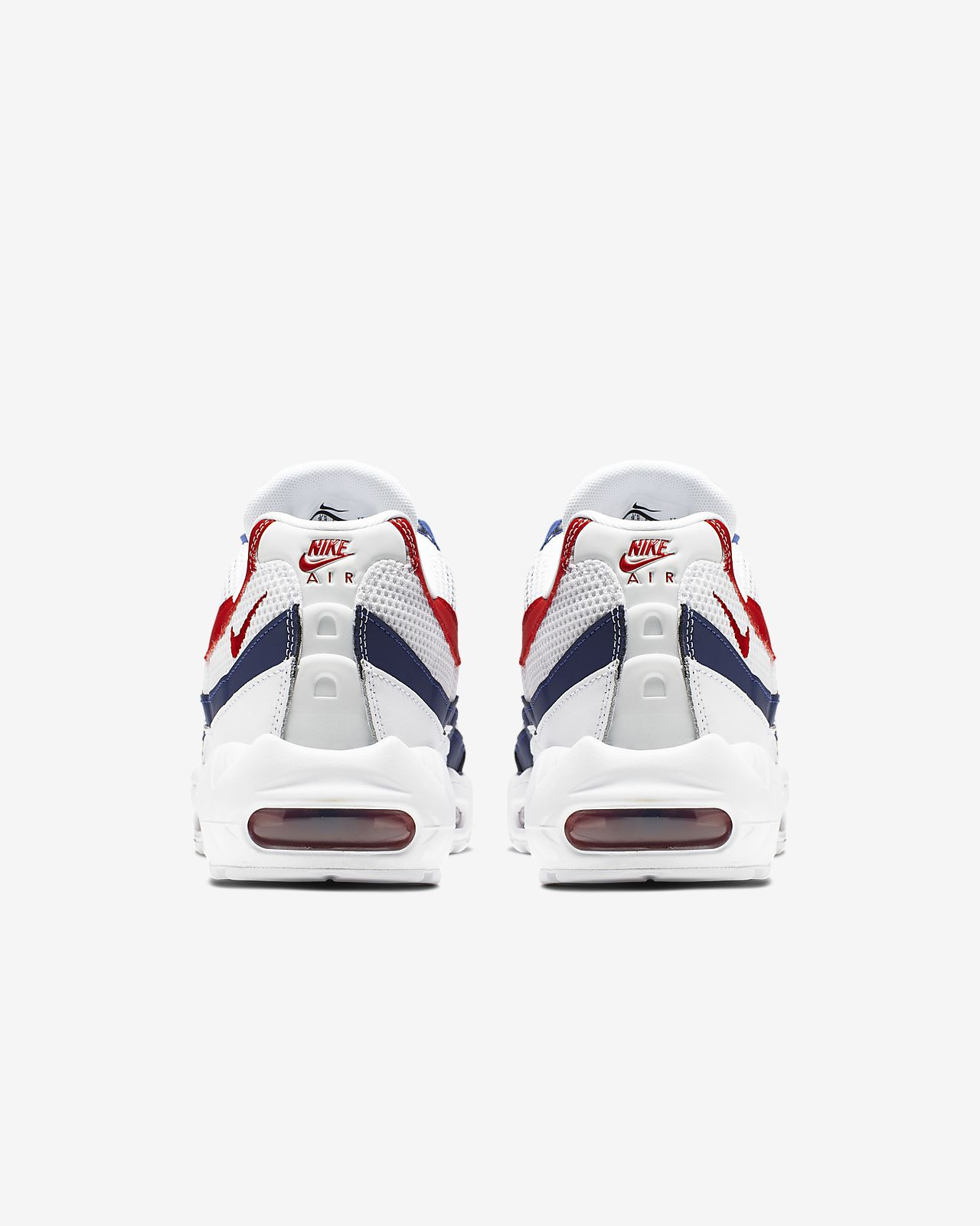 Nike Air Max 95 USA White Gym Red Royal Blue CJ9926 100 Men's Running Shoes Sneakers