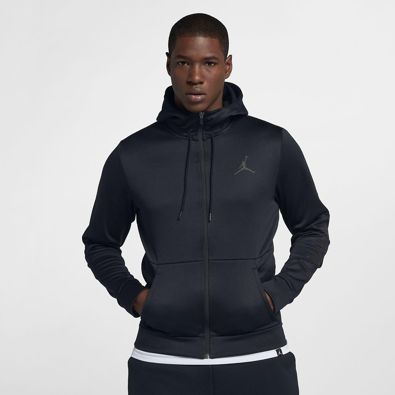 ... Jordan Therma Rise Men's Basketball Full-Zip Hoodie